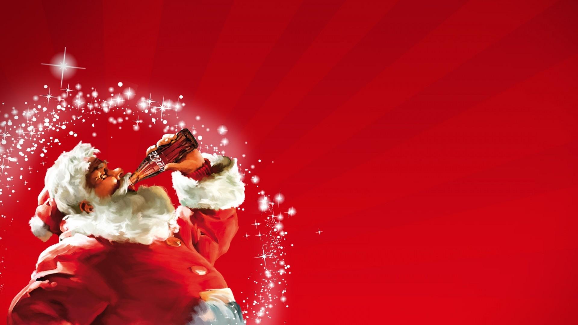 Santa Claus Coca Cola Wallpaper (09)