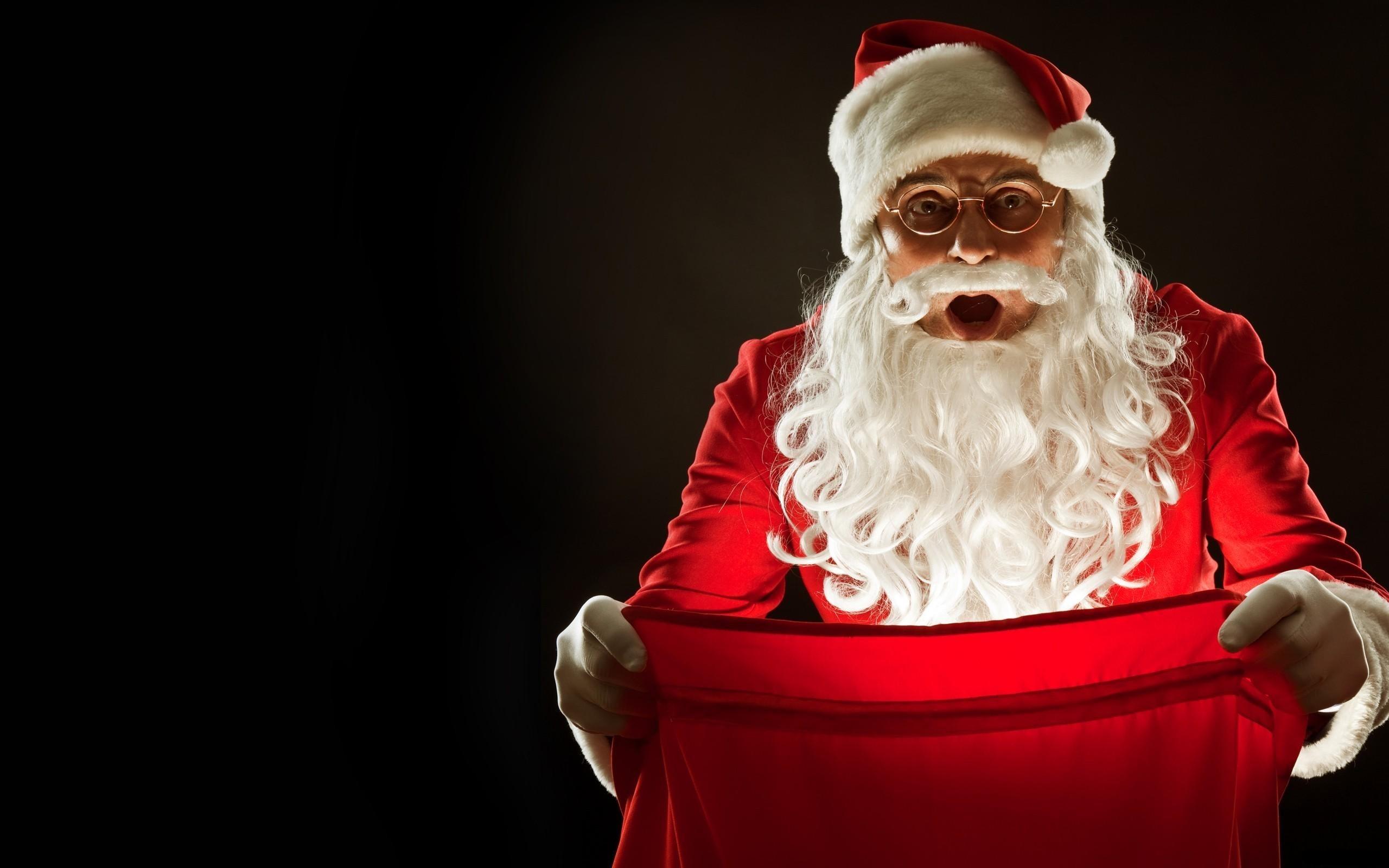 Santa Claus Widescreen Wallpaper 7341