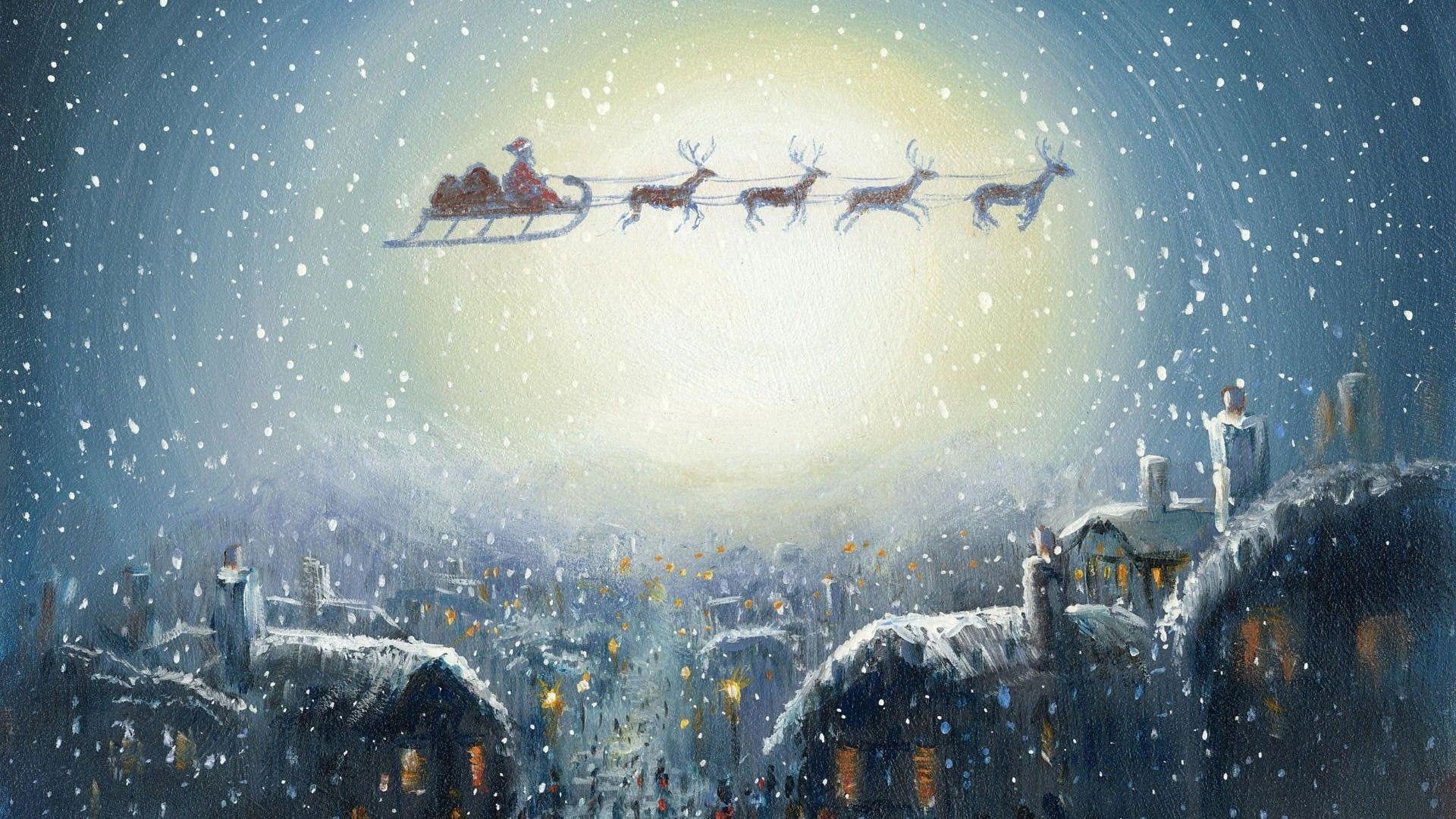 Wallpapers For > Santa Claus Wallpapers