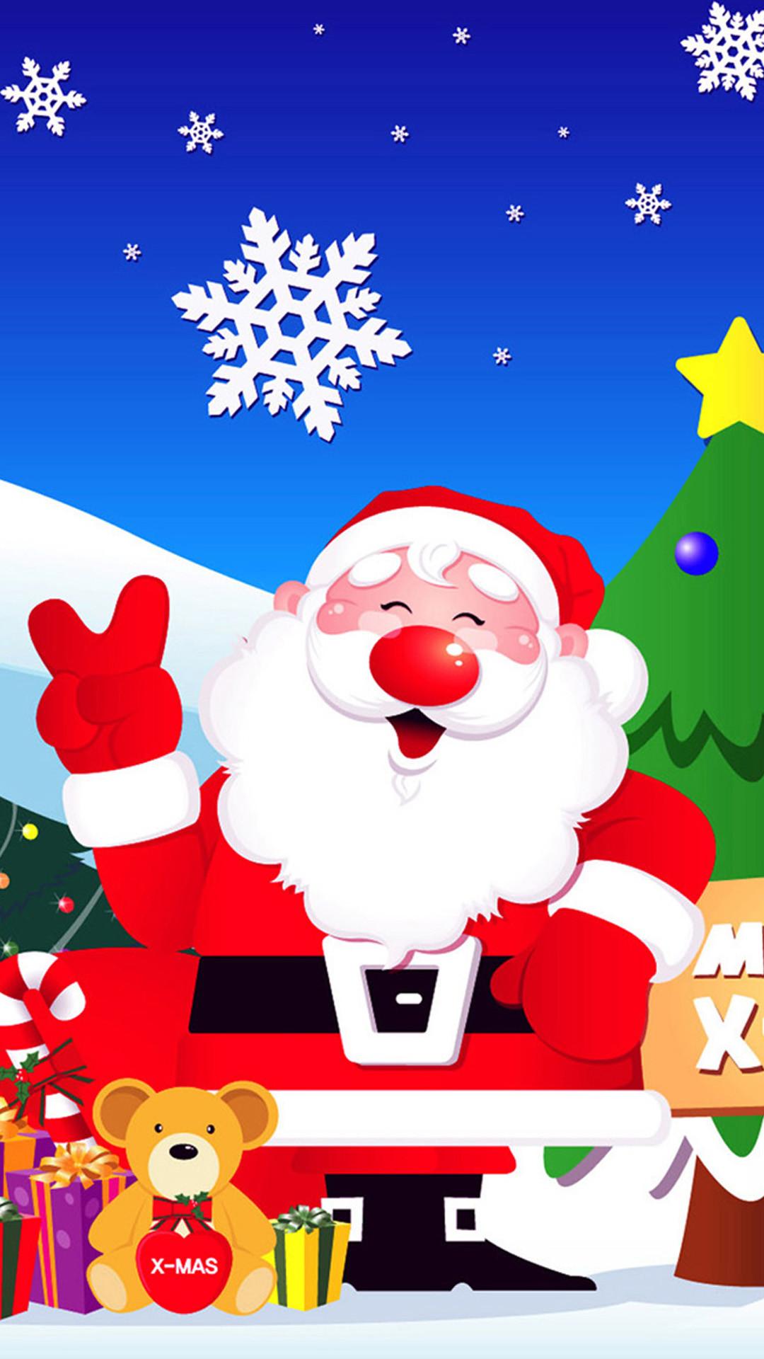 Santa Claus 04 Note 3 Wallpapers