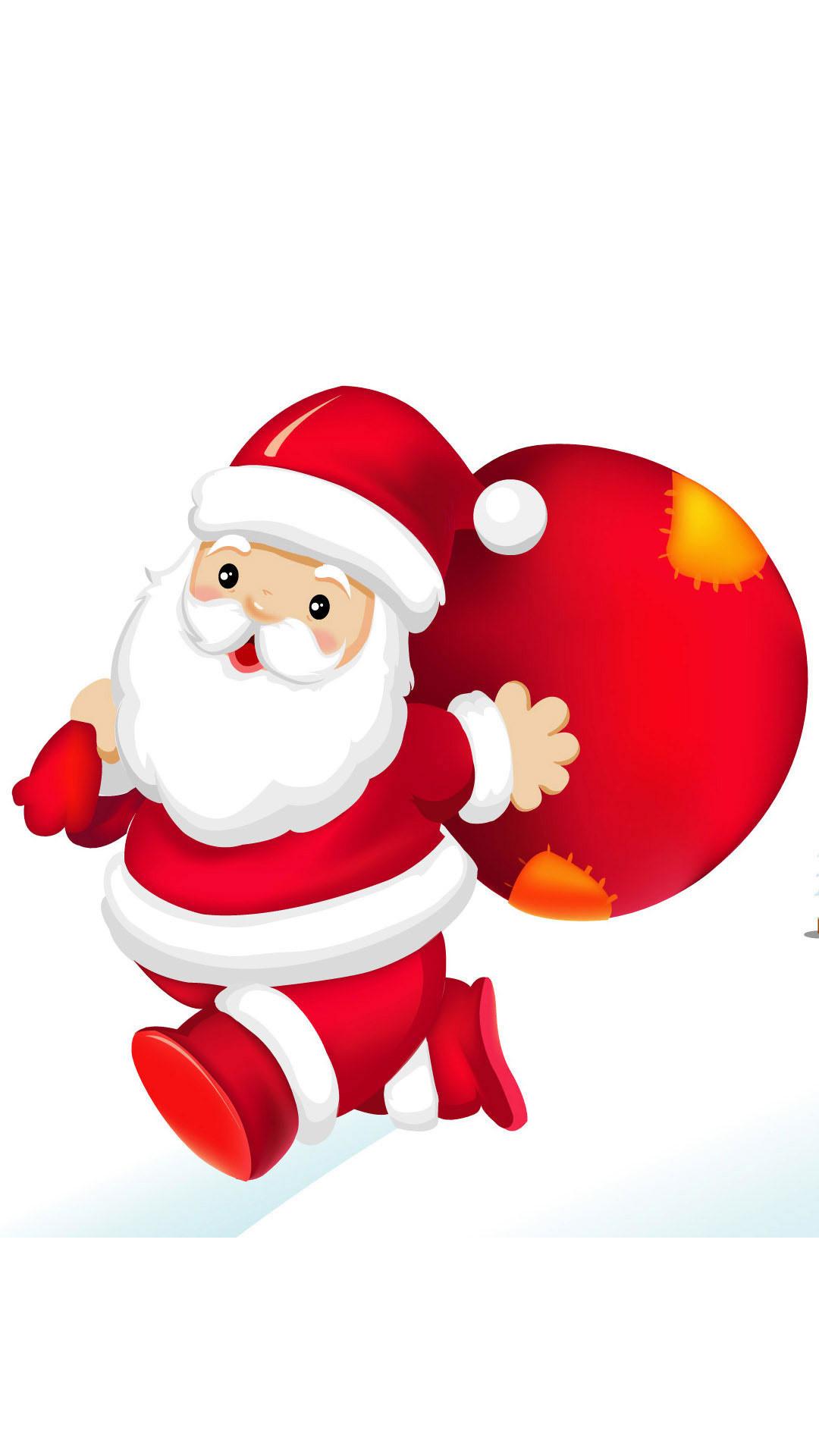 Santa Claus Galaxy Note 3 Wallpapers 05