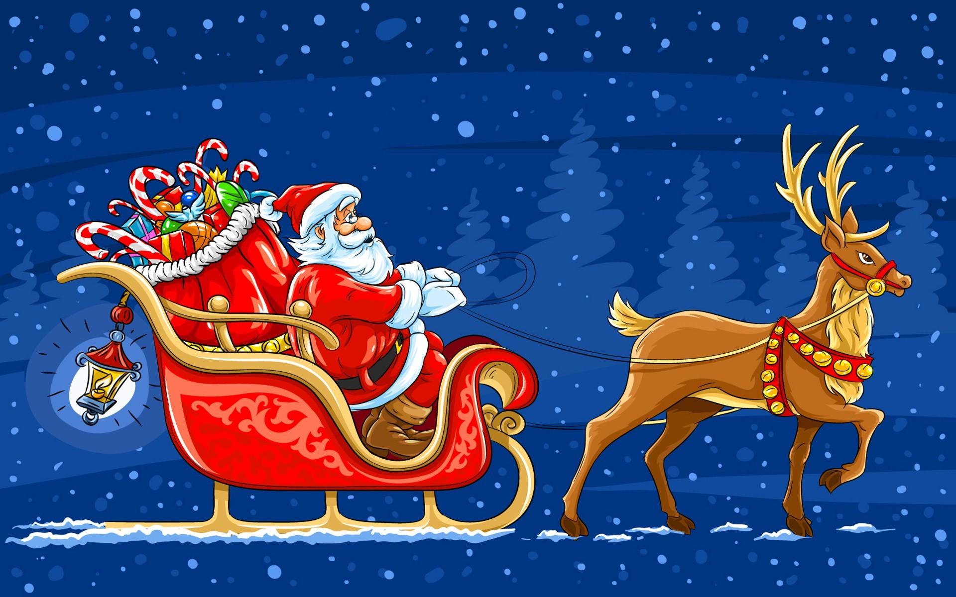 Cute Santa Claus Wallpaper #6785185