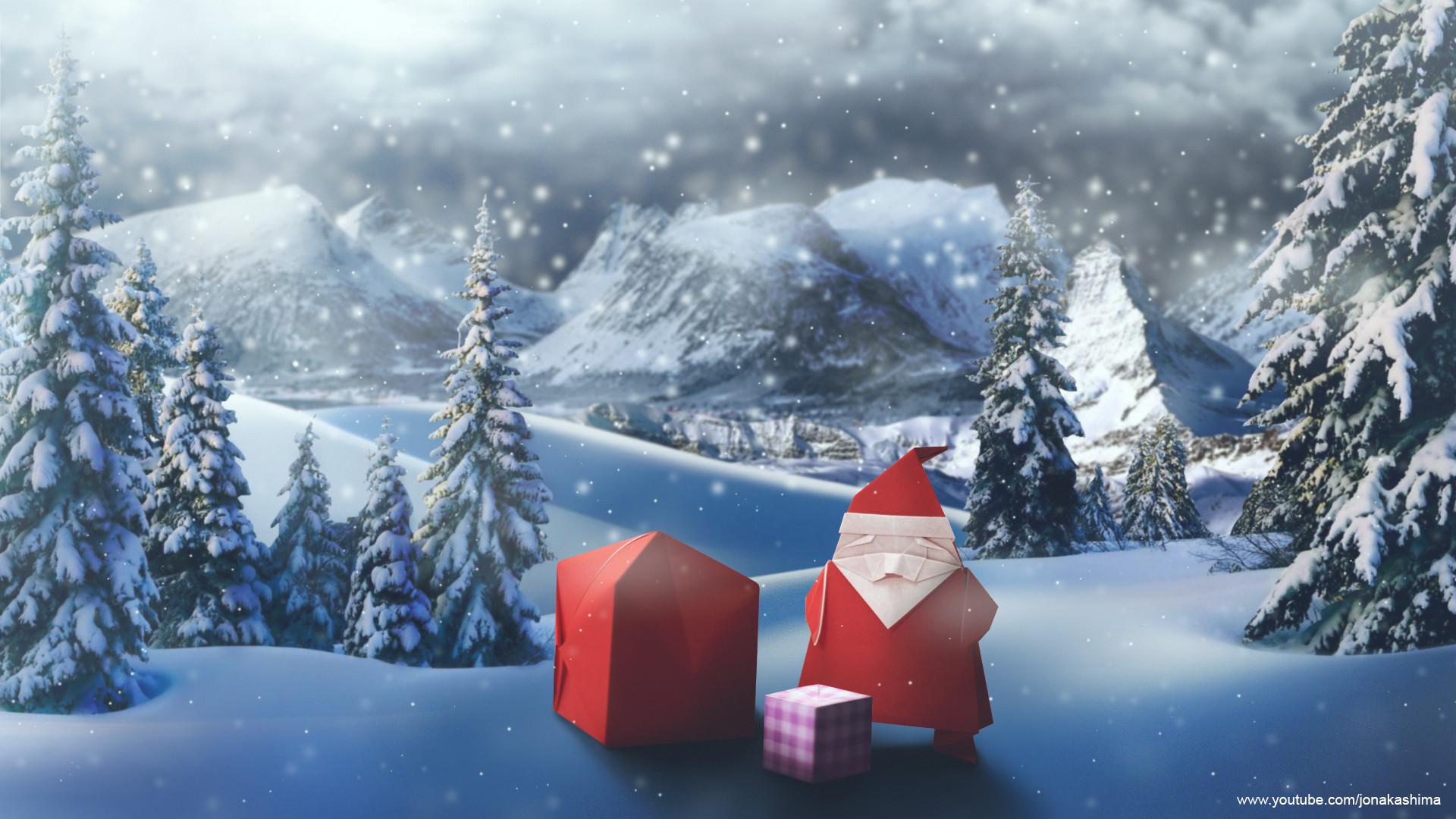 Santa Claus Wallpaper (Desktop version)