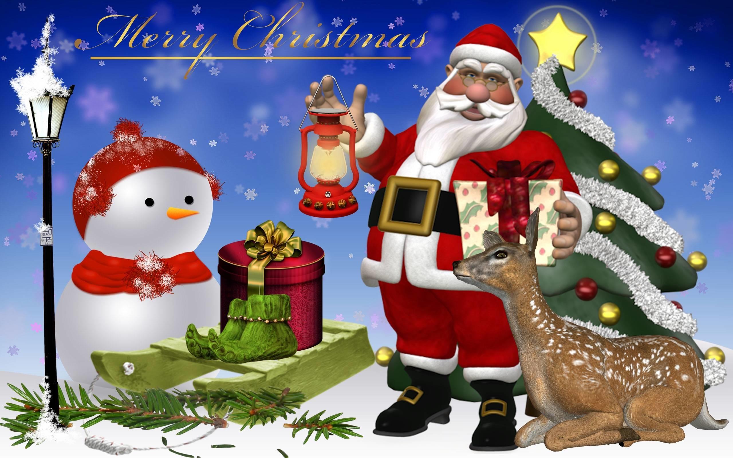 Model Santa Claus Wallpapers