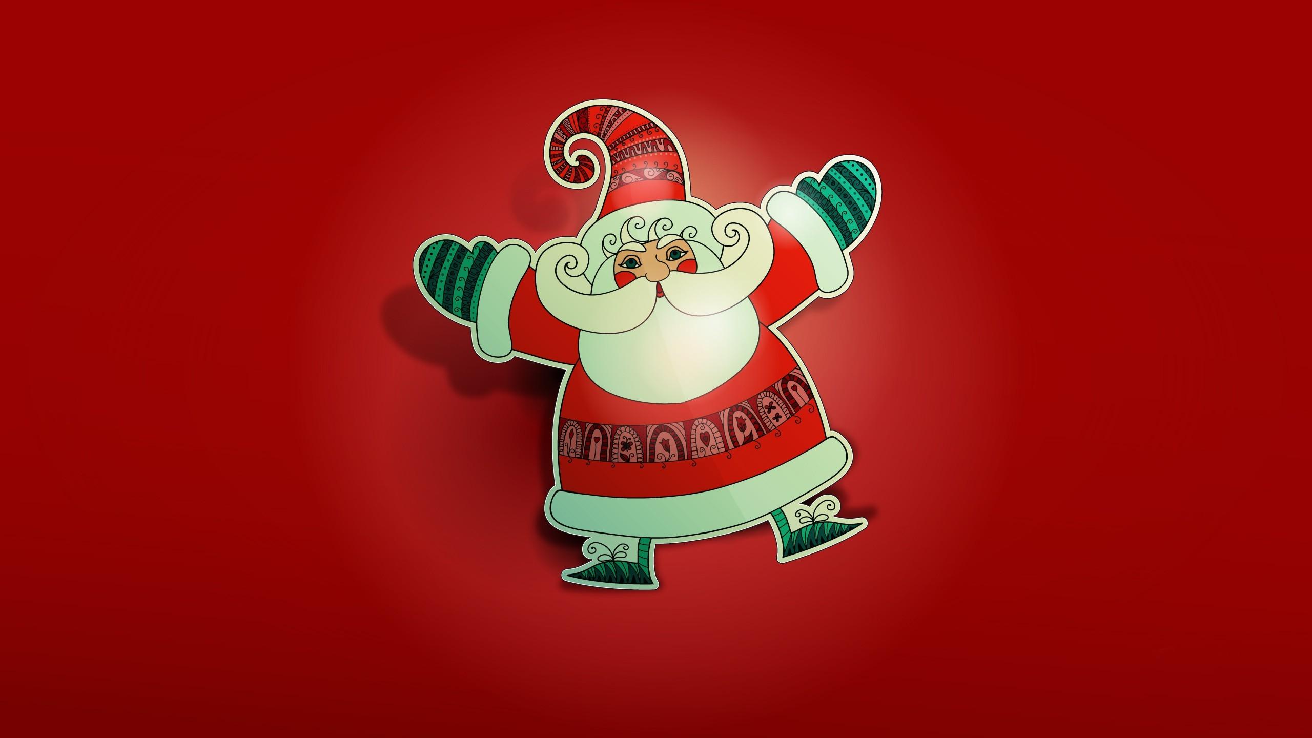 … x 1440 Original. Description: Download Father Christmas Santa Claus  Christmas wallpaper …