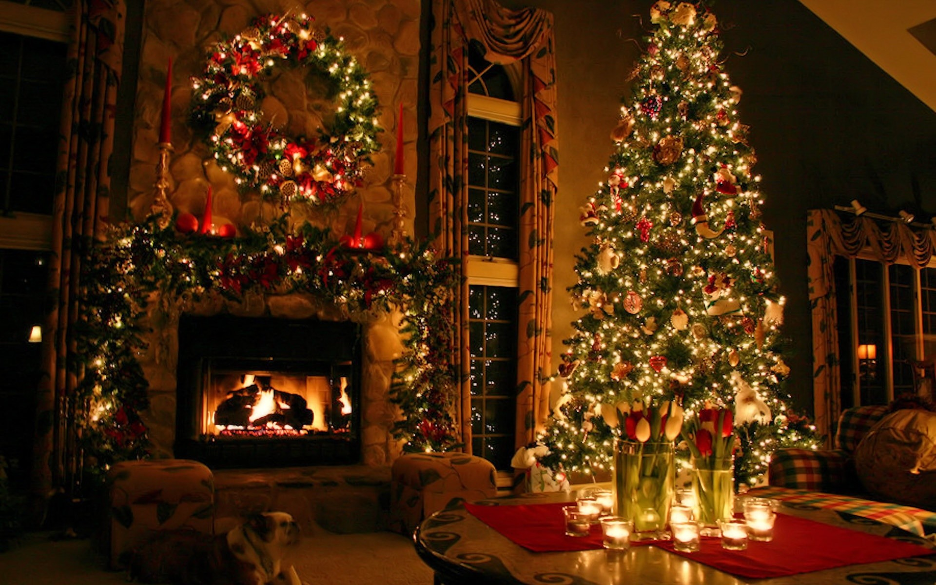Beautiful Christmas Desktop Wallpaper