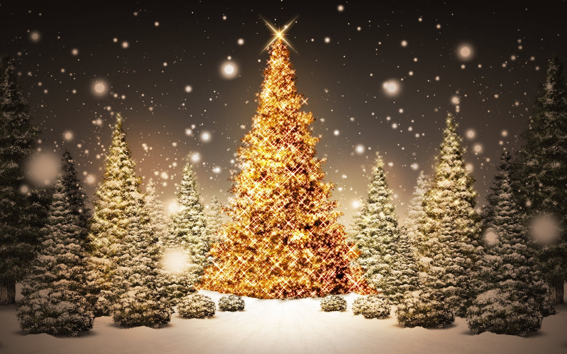 Wallpapers | Free 3d Christmas Tree Backgrounds | Desktop Wallpapers .