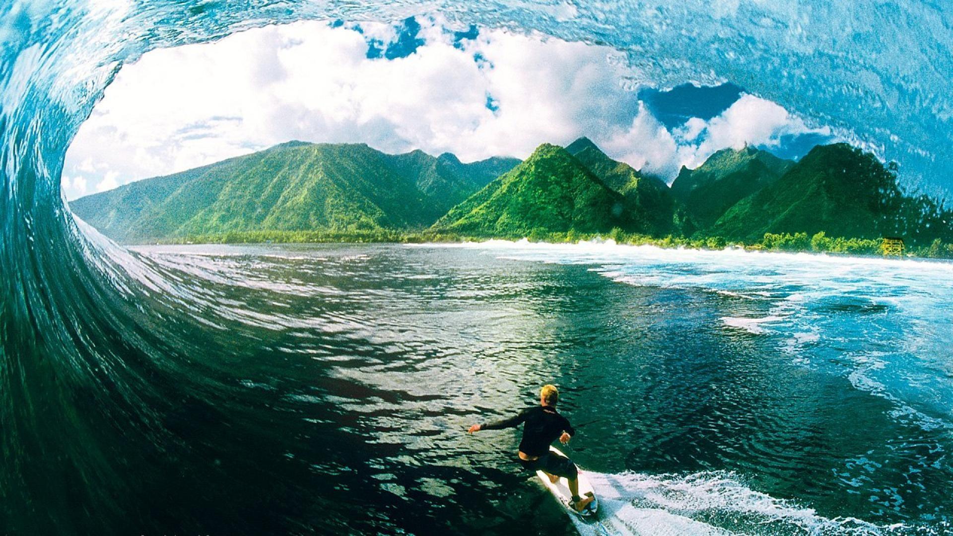 Surfing Wallpaper Image Wallpaper