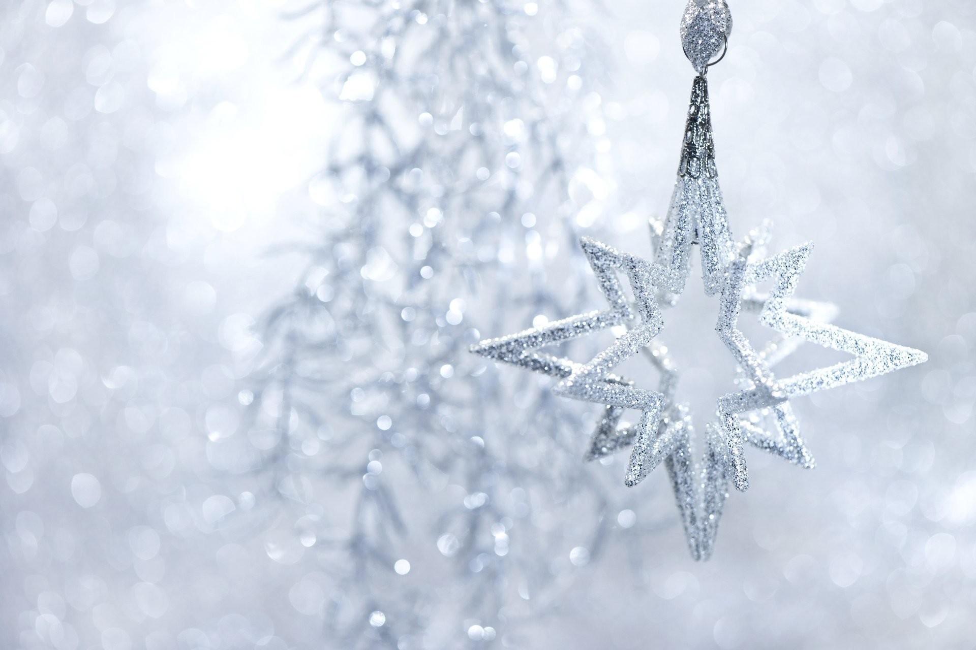 toys christmas tree christmas star snowflake silver sequins tinsel holidays  winter new year christmas christmas new