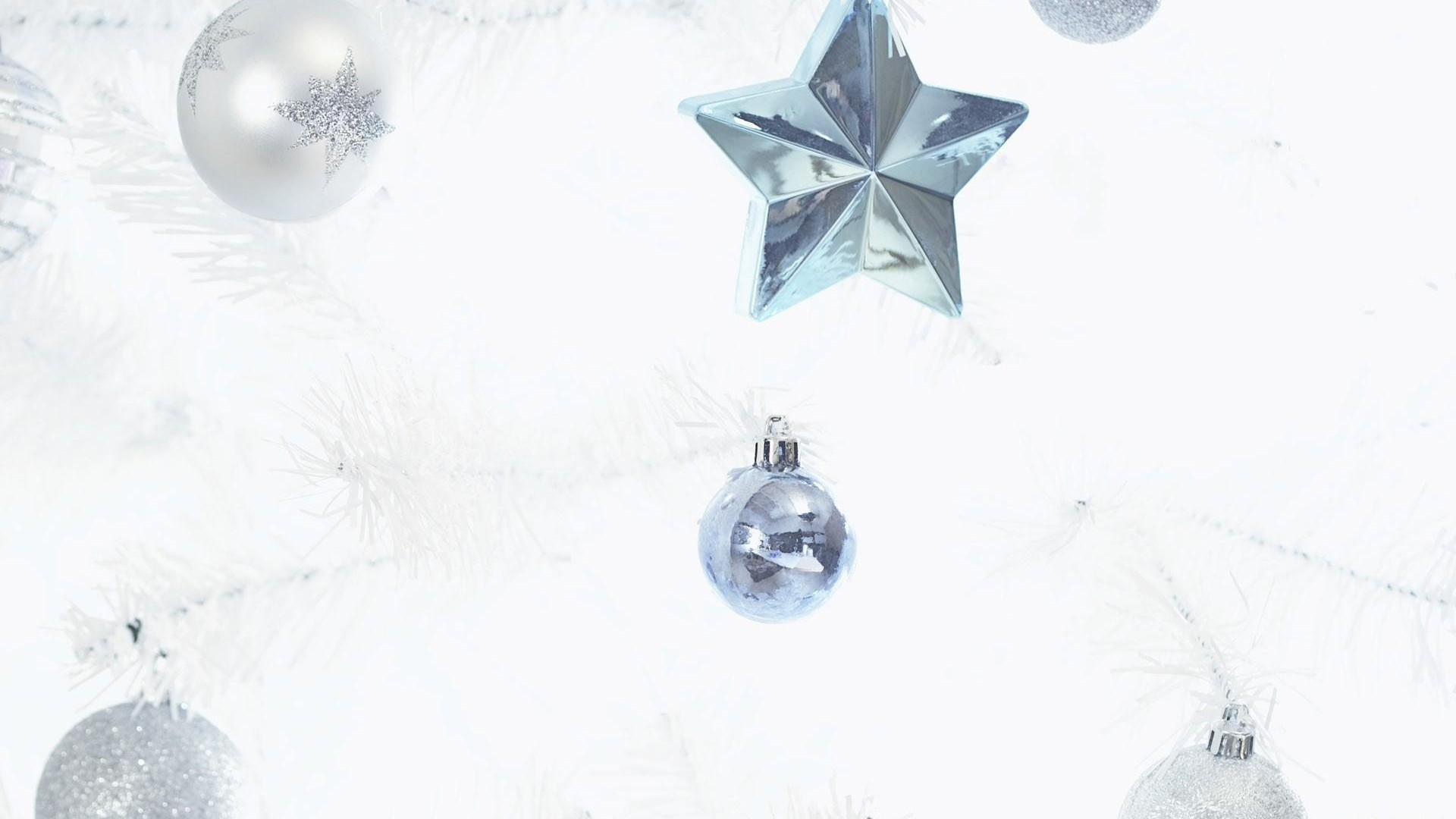 balls, christmas decorations, star