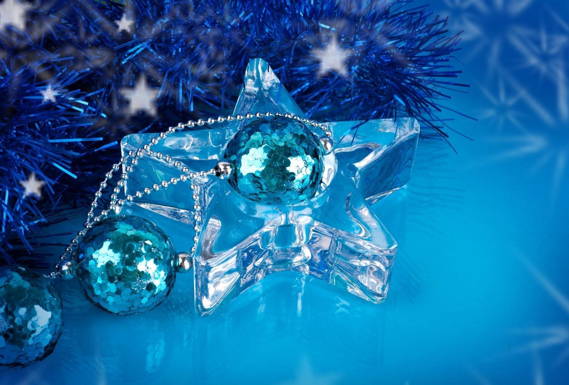 new year christmas new year christmas star transparent bulbs blue  decoration sequins christmas toys tinsel rain