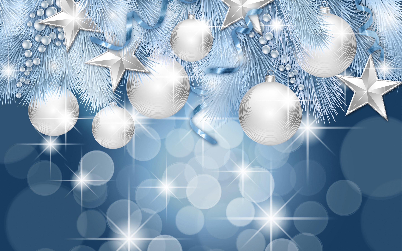 Blue Christmas Backgrounds – Happy Holidays!