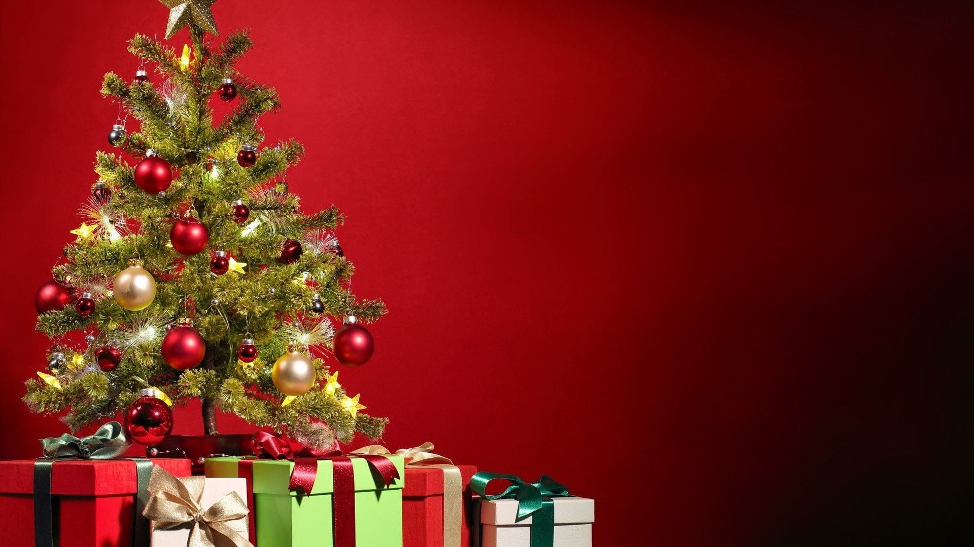 Cute Christmas Tree Backgrounds (04)