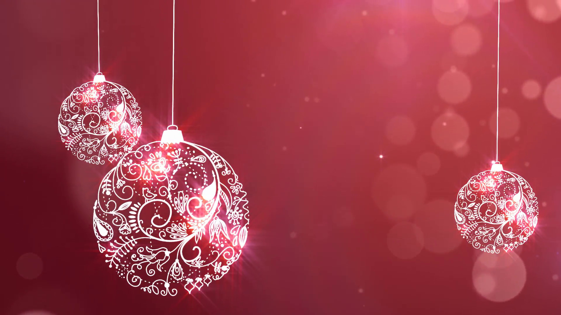 Subscription Library Christmas Ornament Background