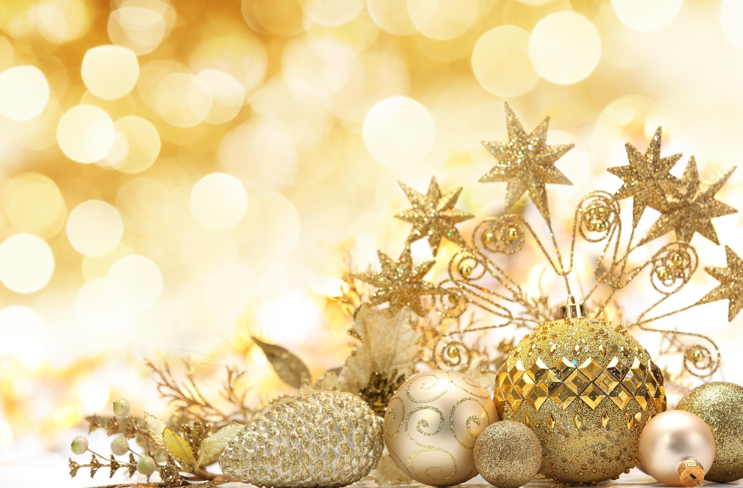 Gold Christmas Ornament Background (16)
