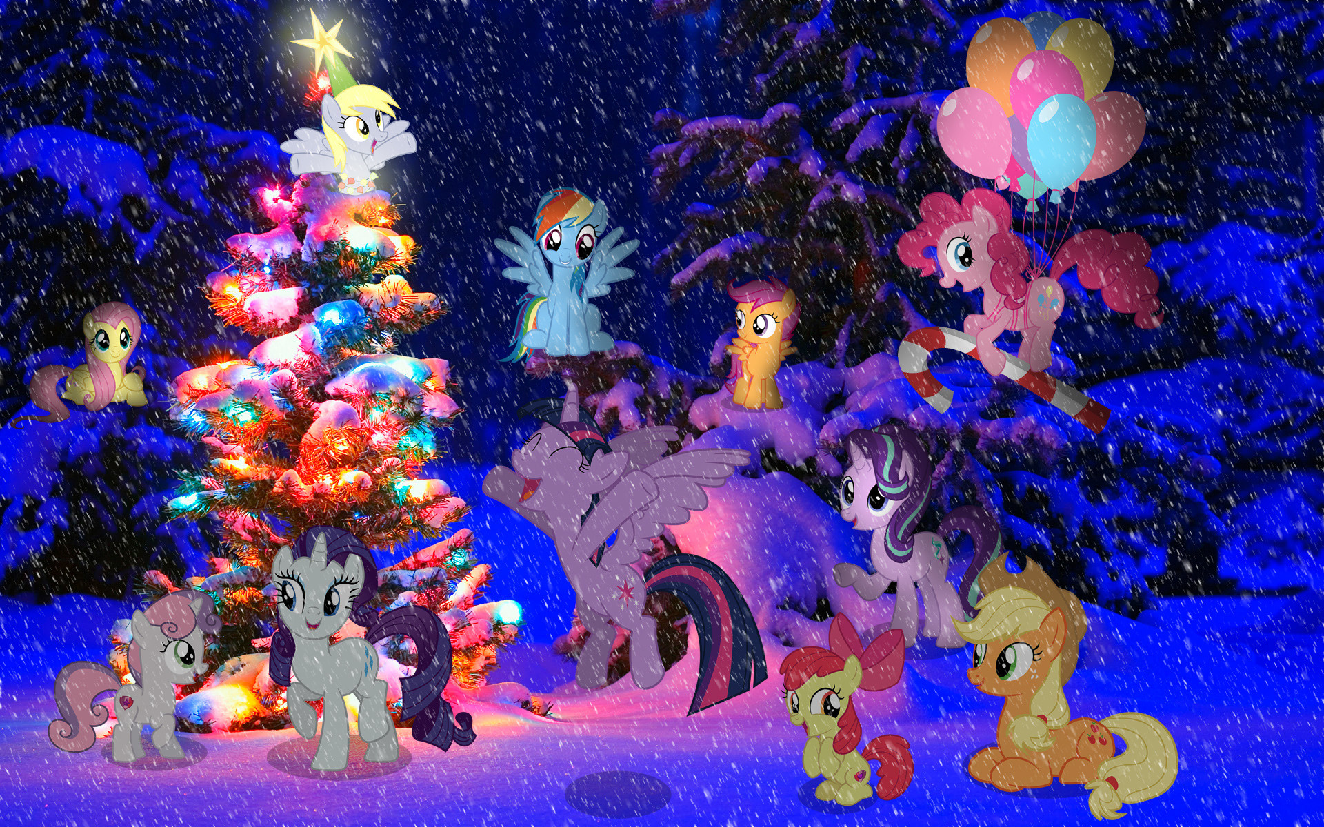 Christmas Backgrounds (25 Wallpapers)