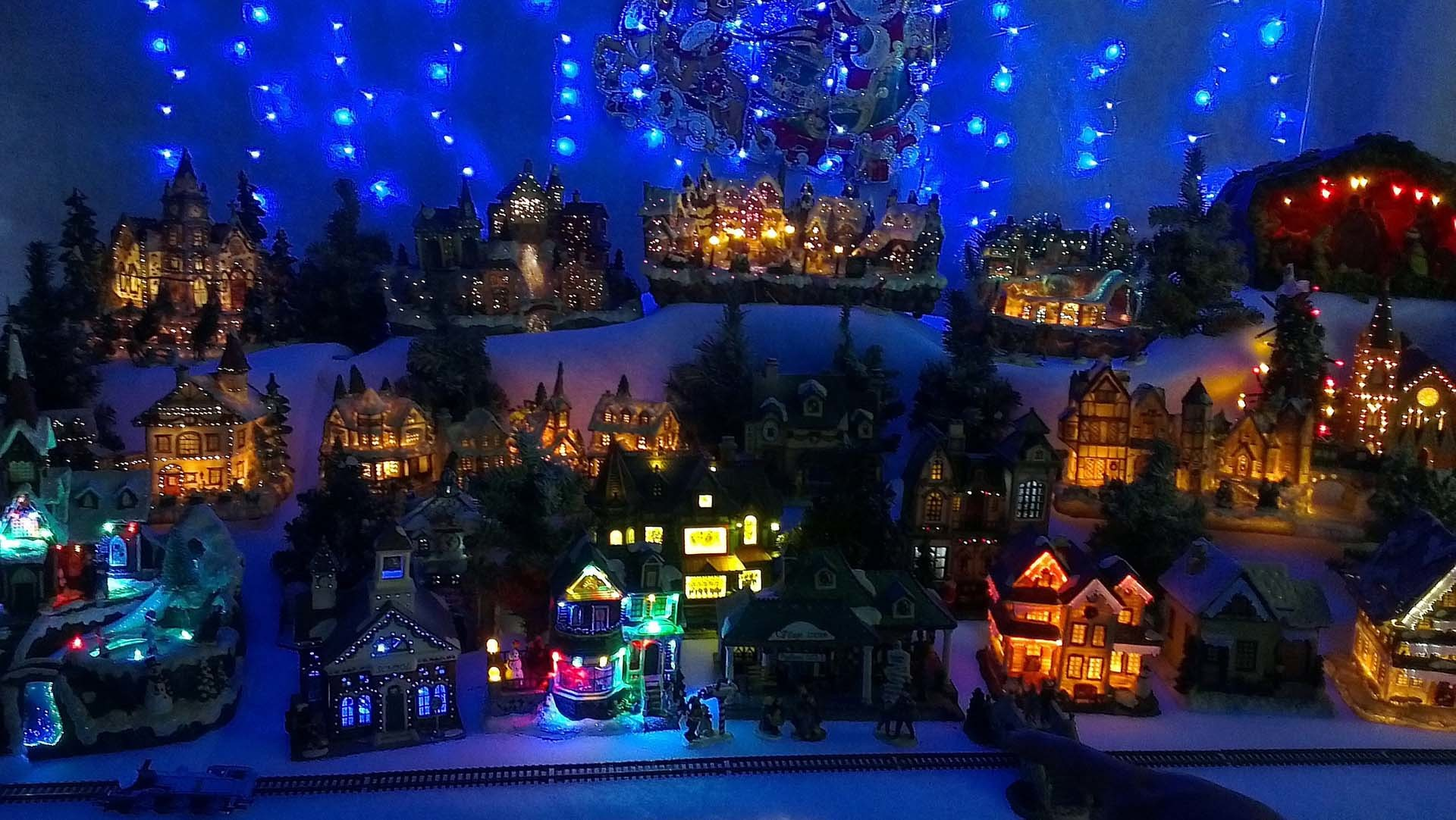 Christmas Village Background | Wallpapers9