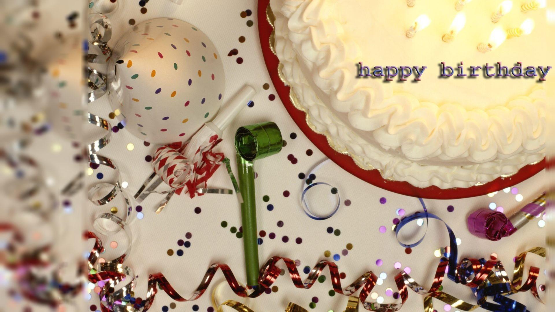 Happy Birthday Wishes Hd Wallpaper