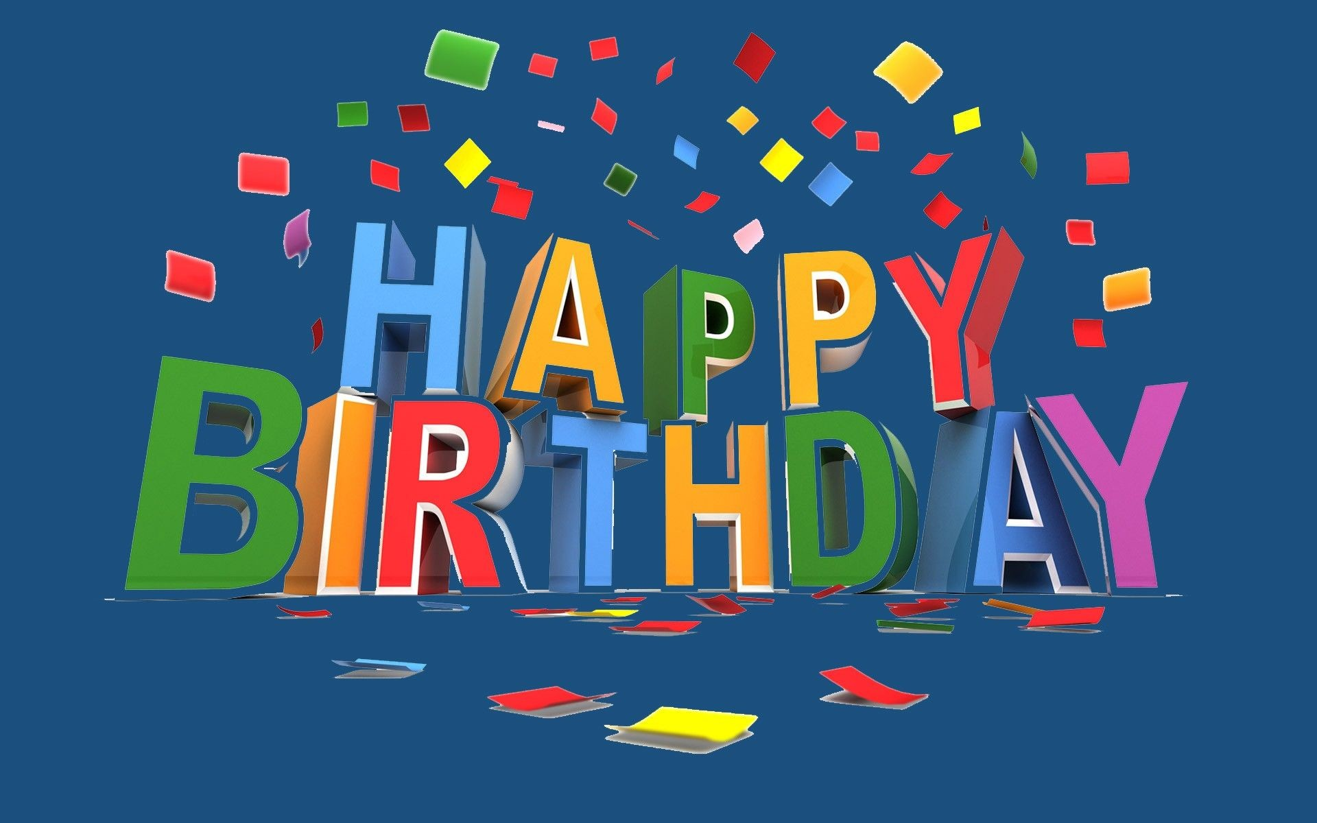 Happy Birthday Wallpapers Collection For Free Download