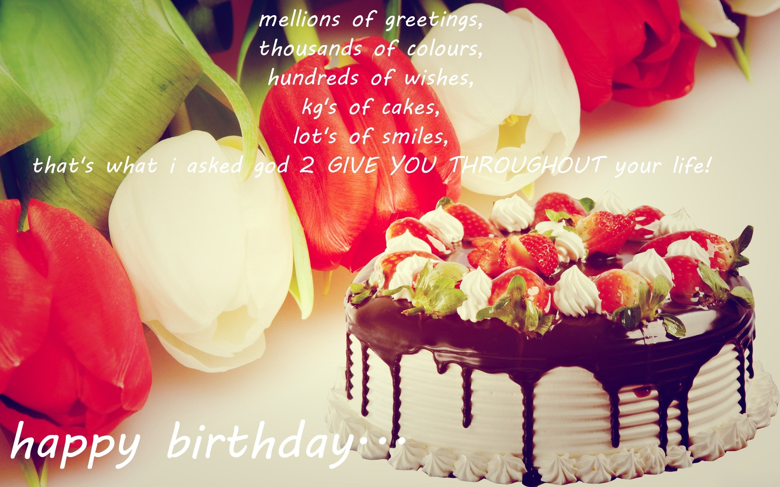 Amazing HD_happy birthday hd wallpaper with quotes
