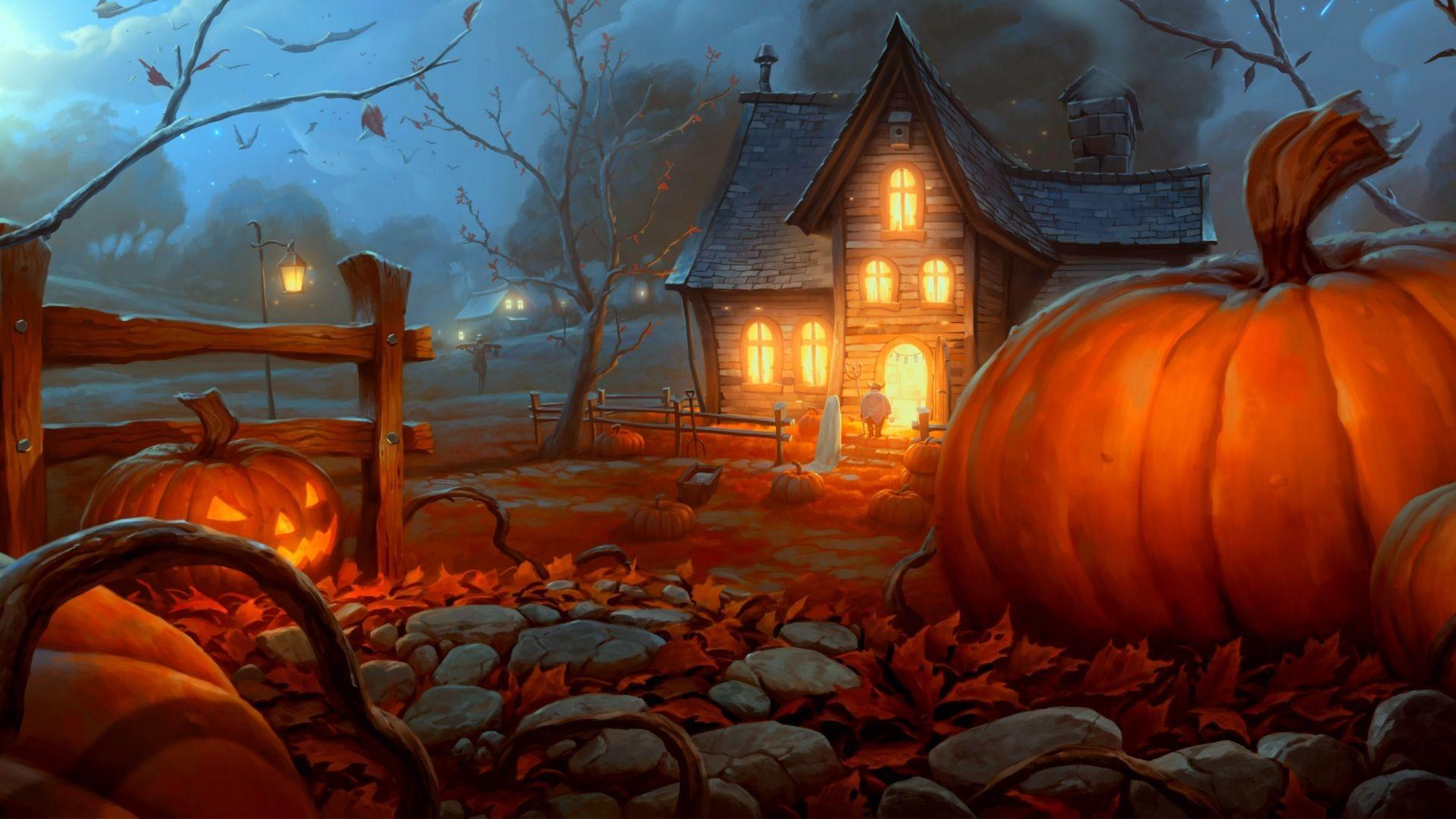 hd halloween wallpaper
