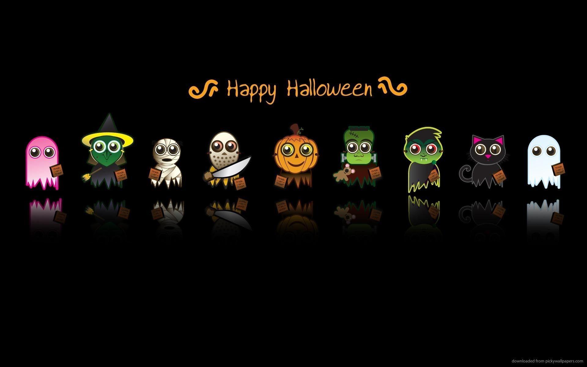 Cute Halloween wallpaper high quality