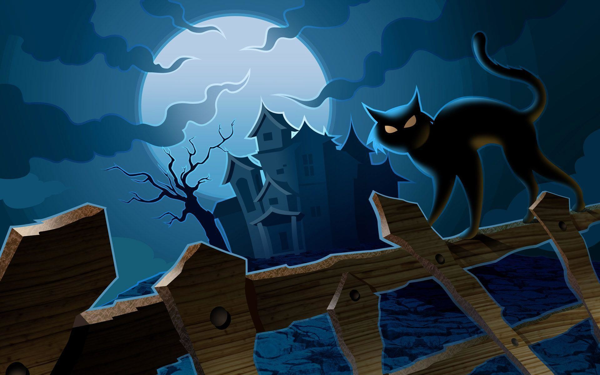 Halloween Wallpaper And Screensavers HD Wallpapers Pictures   HD .