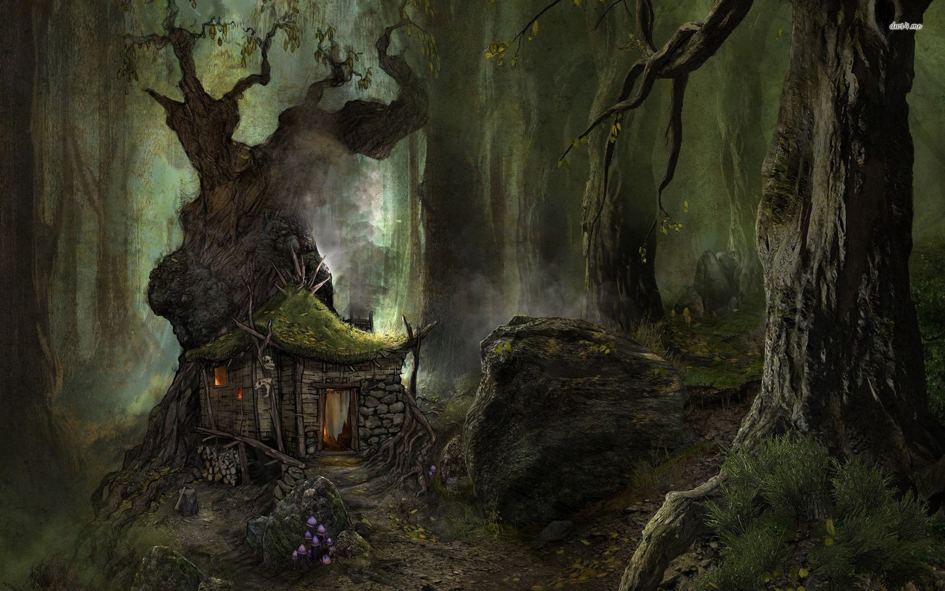Small House In The Scary Forest 704864