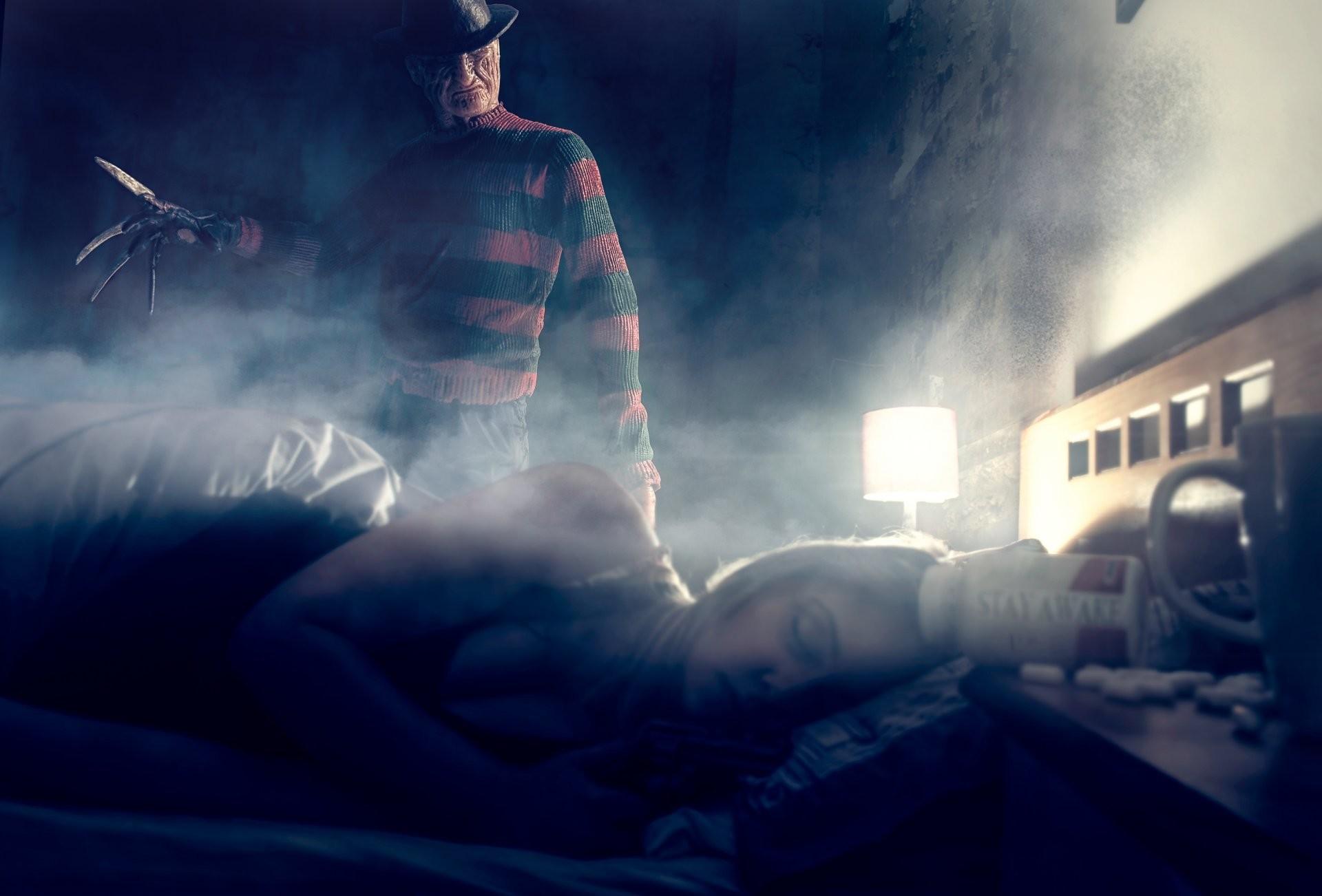 freddy krueger freddy krueger girl sleeping room