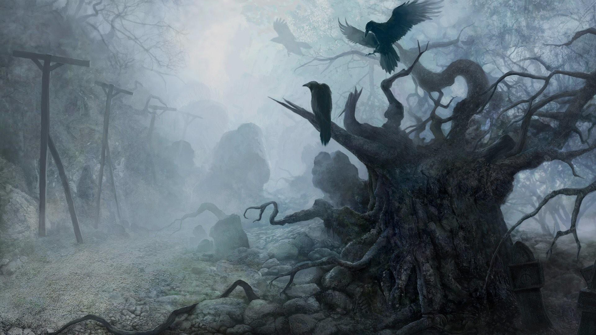 Creepy Landscape Wallpapers 1080p