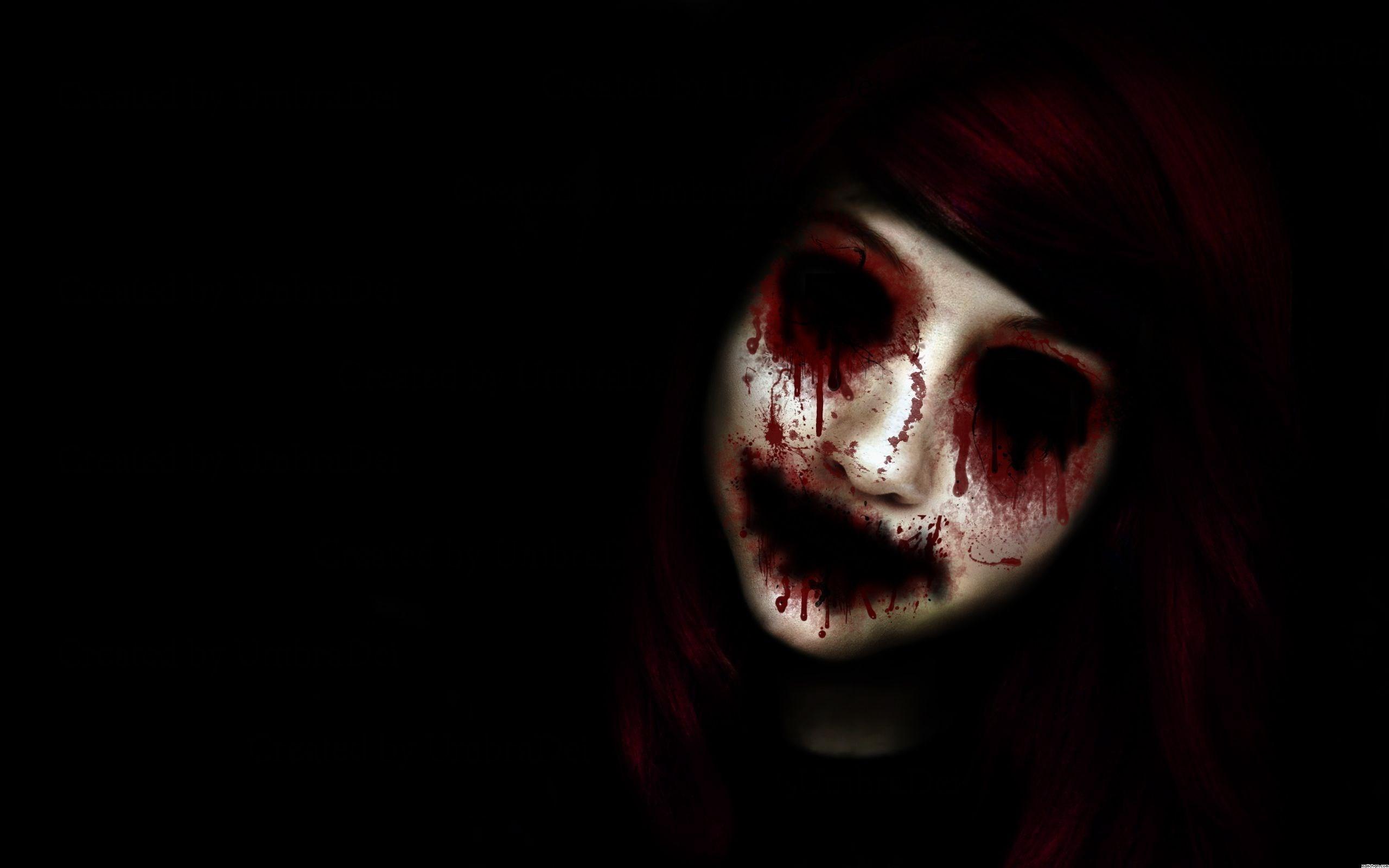 Radburn Gill – horror anime background wallpaper free – 2560 x 1600 px