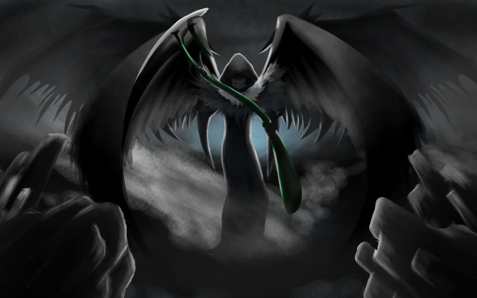 Anime Grim Reaper Scythe
