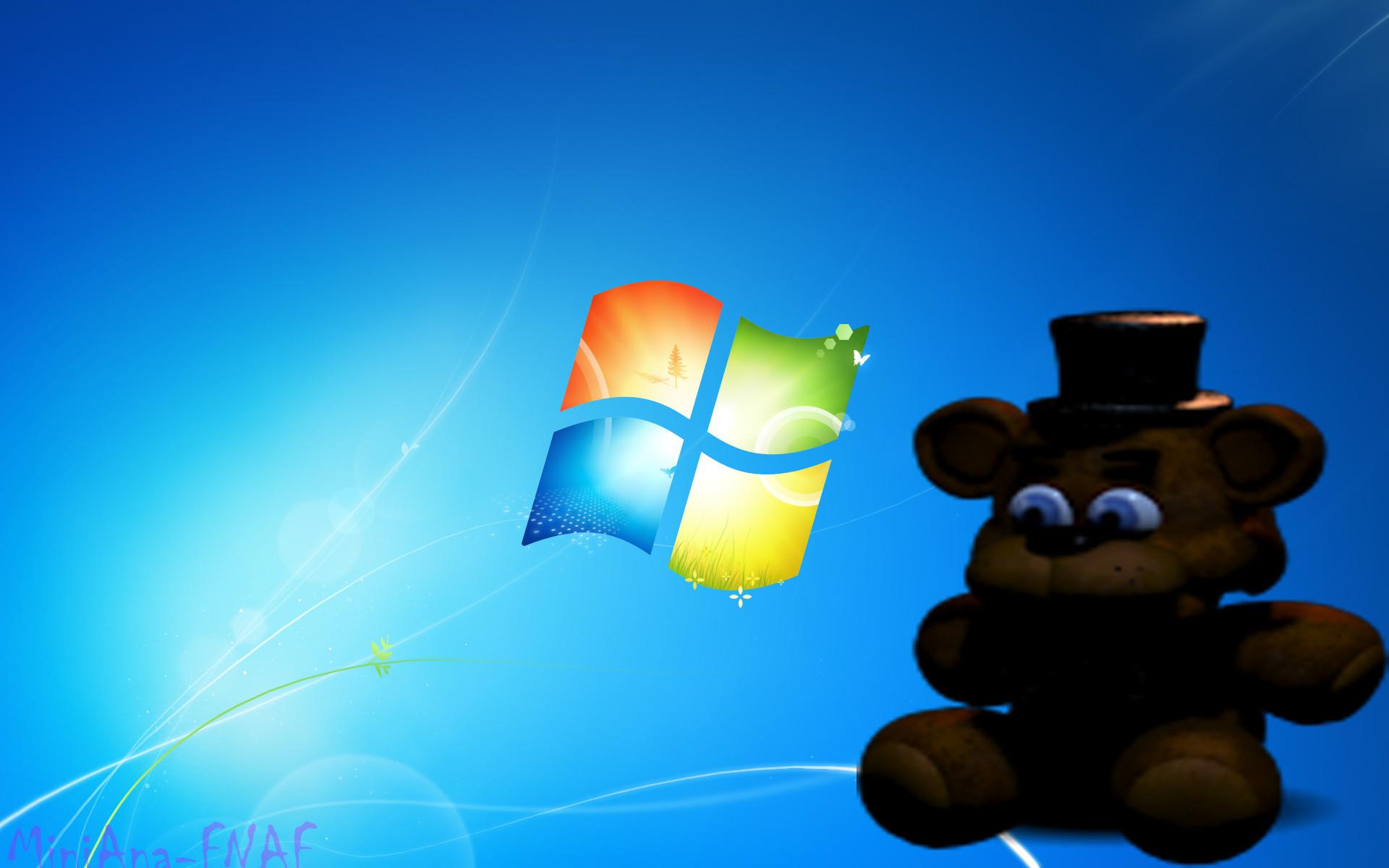 FNAF WALLPAPER-Freddy Doll Windows 7 by MiniAna-Fnaf on DeviantArt