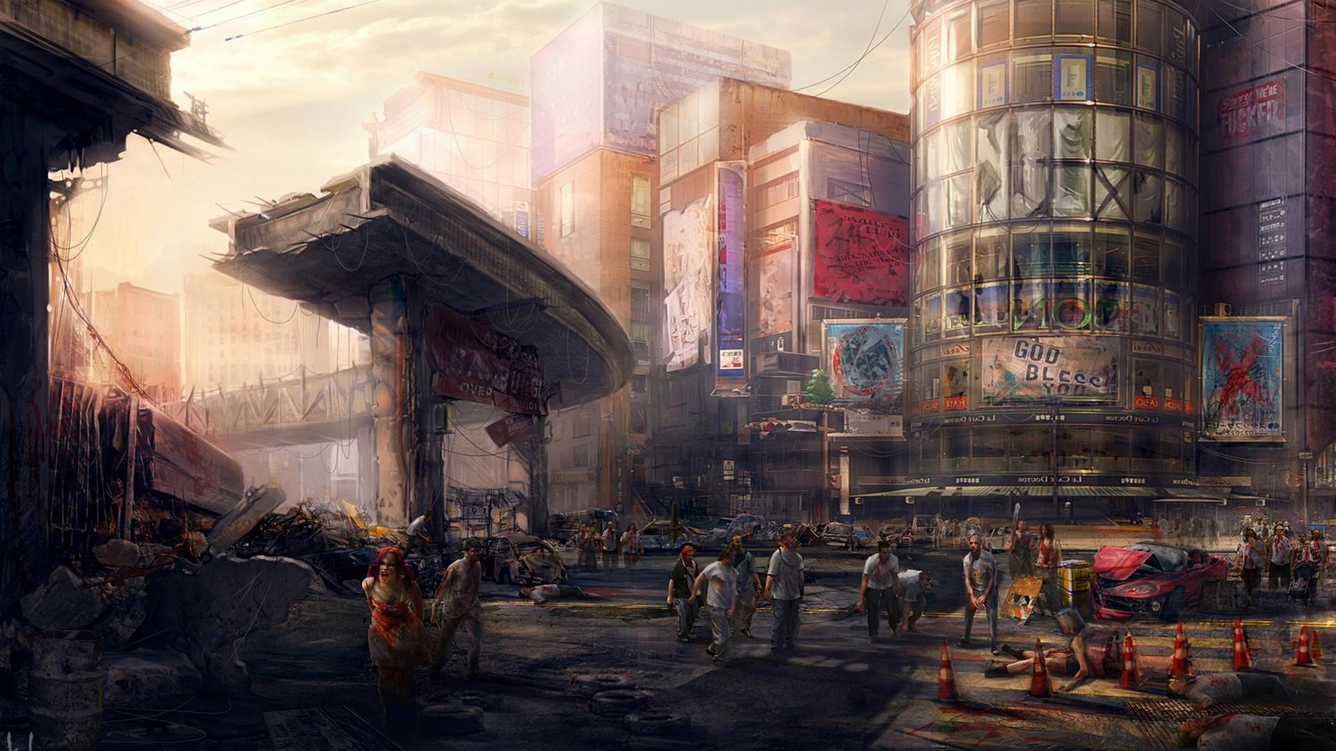zombie apocalypse Wallpaper Background | 20608