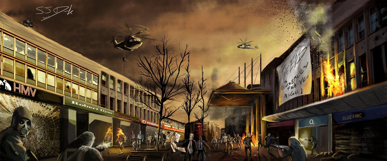 lego zombies apocalypse 1920×1080 wallpaper High Quality .
