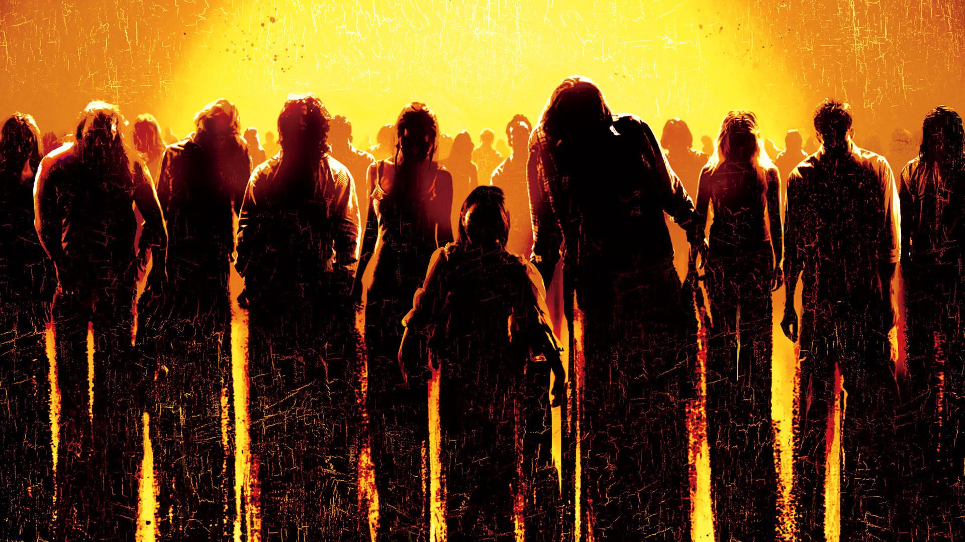 DAWN OF THE DEAD dark zombie wallpaper