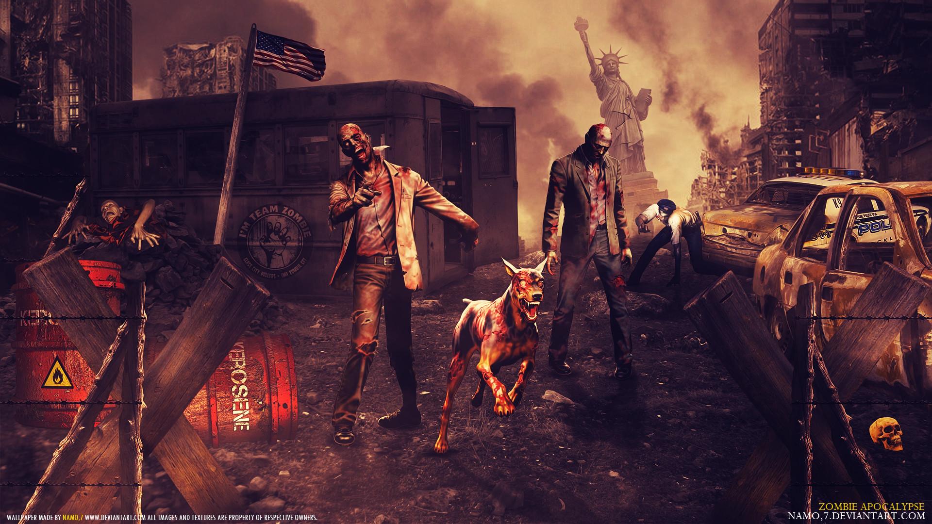 … 8800 Zombie Apocalypse by namo,7 by 445578gfx