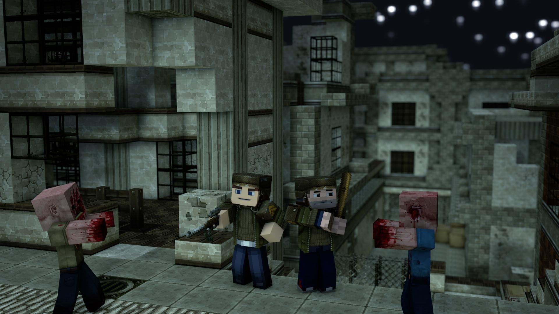 <b>Zombie Minecraft Wallpaper</b> – WallDevil