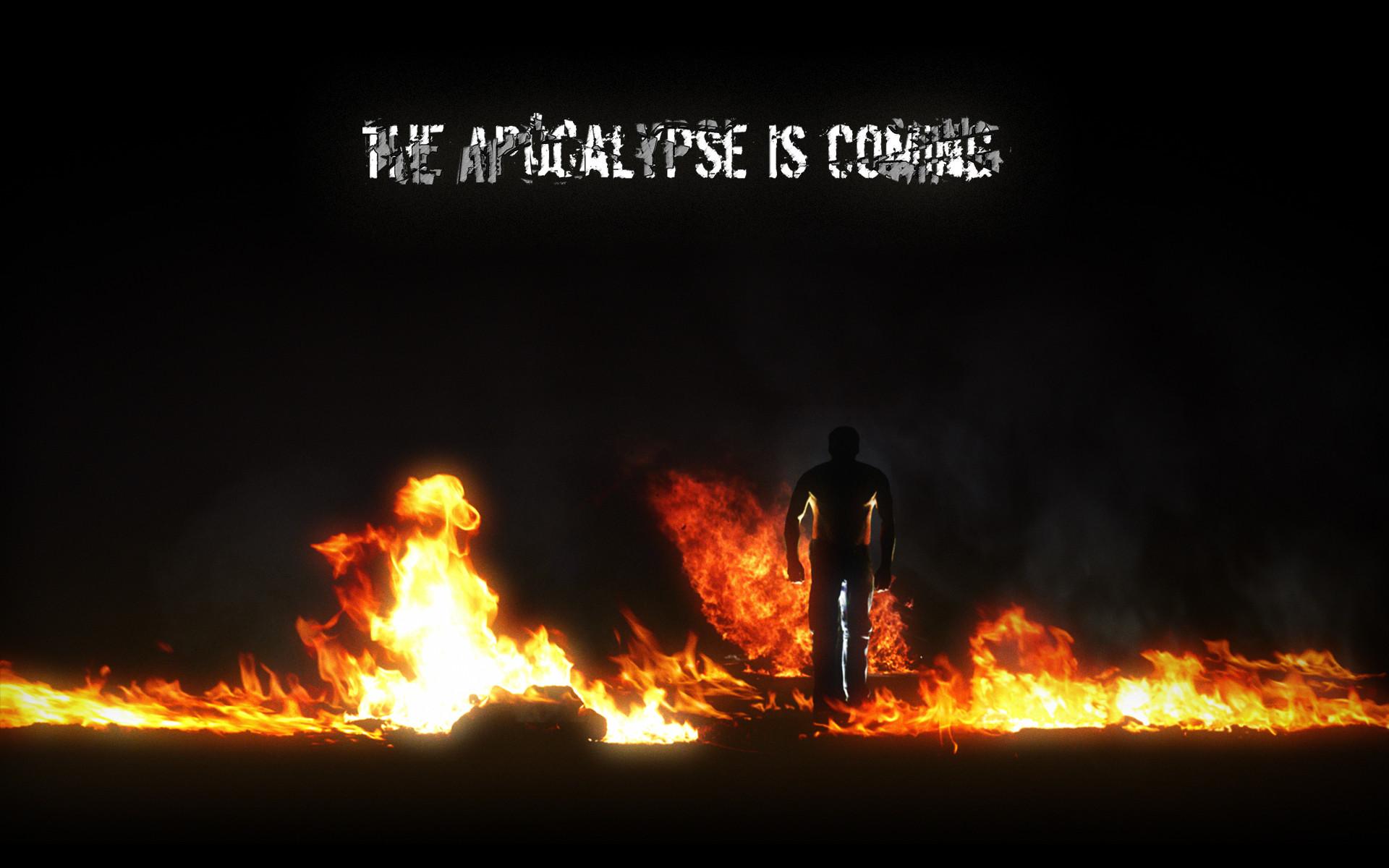 Zombie Apocalypse Wallpaper 1 by Soulburned Zombie Apocalypse Wallpaper 1  by Soulburned