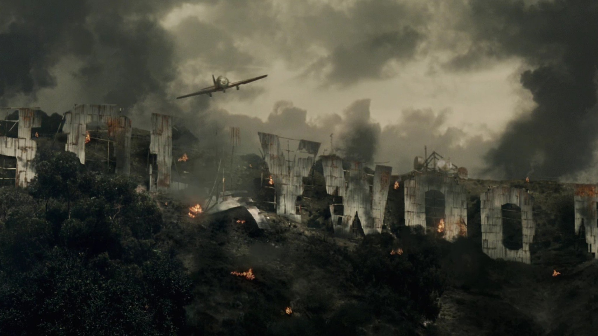 Wallpaper resident evil extinction, flying, sky, hollywood,  apocalypse