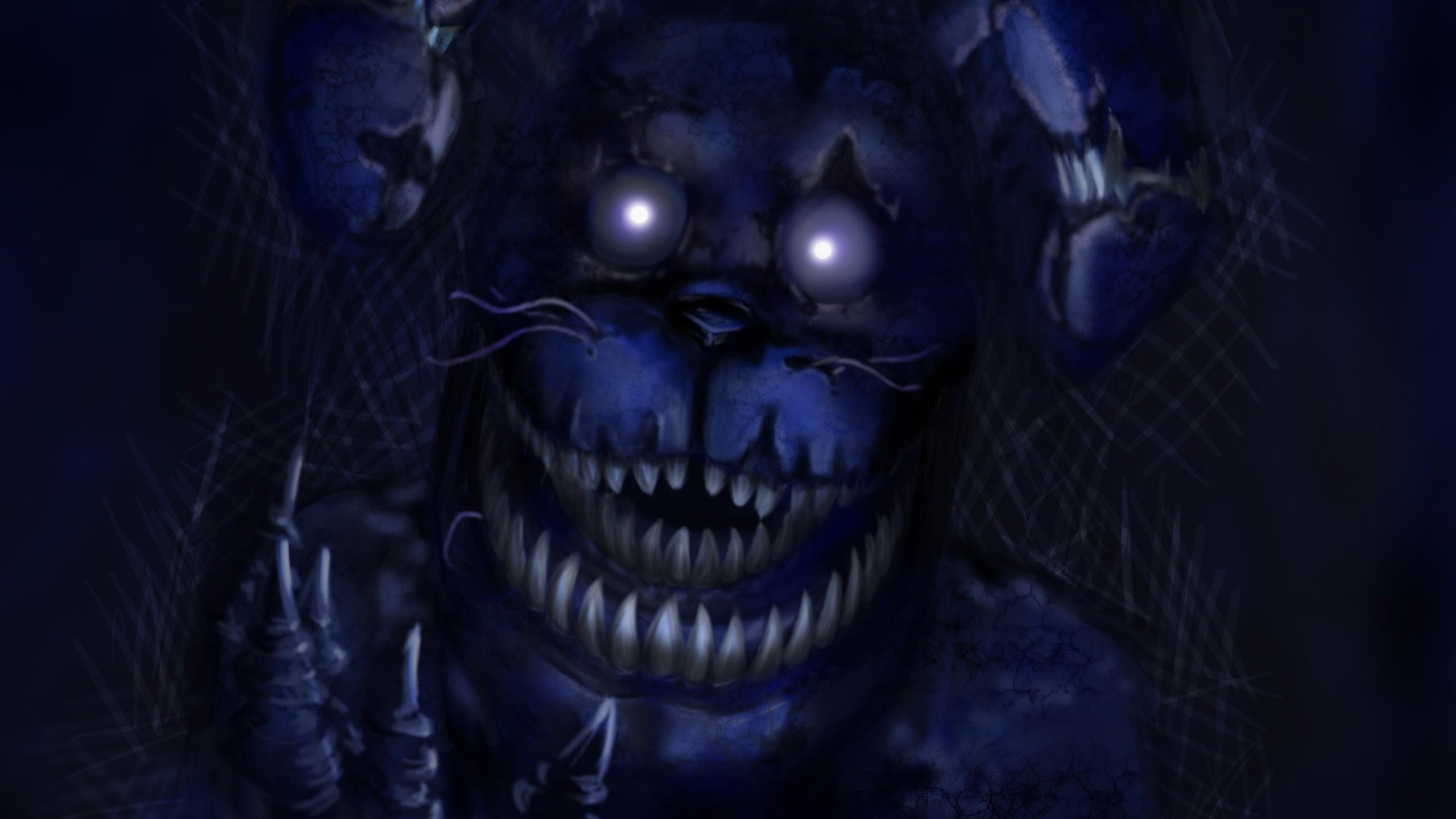 Fnaf, Fnaf 4, Nightmare, Horror Game, Bonnie .