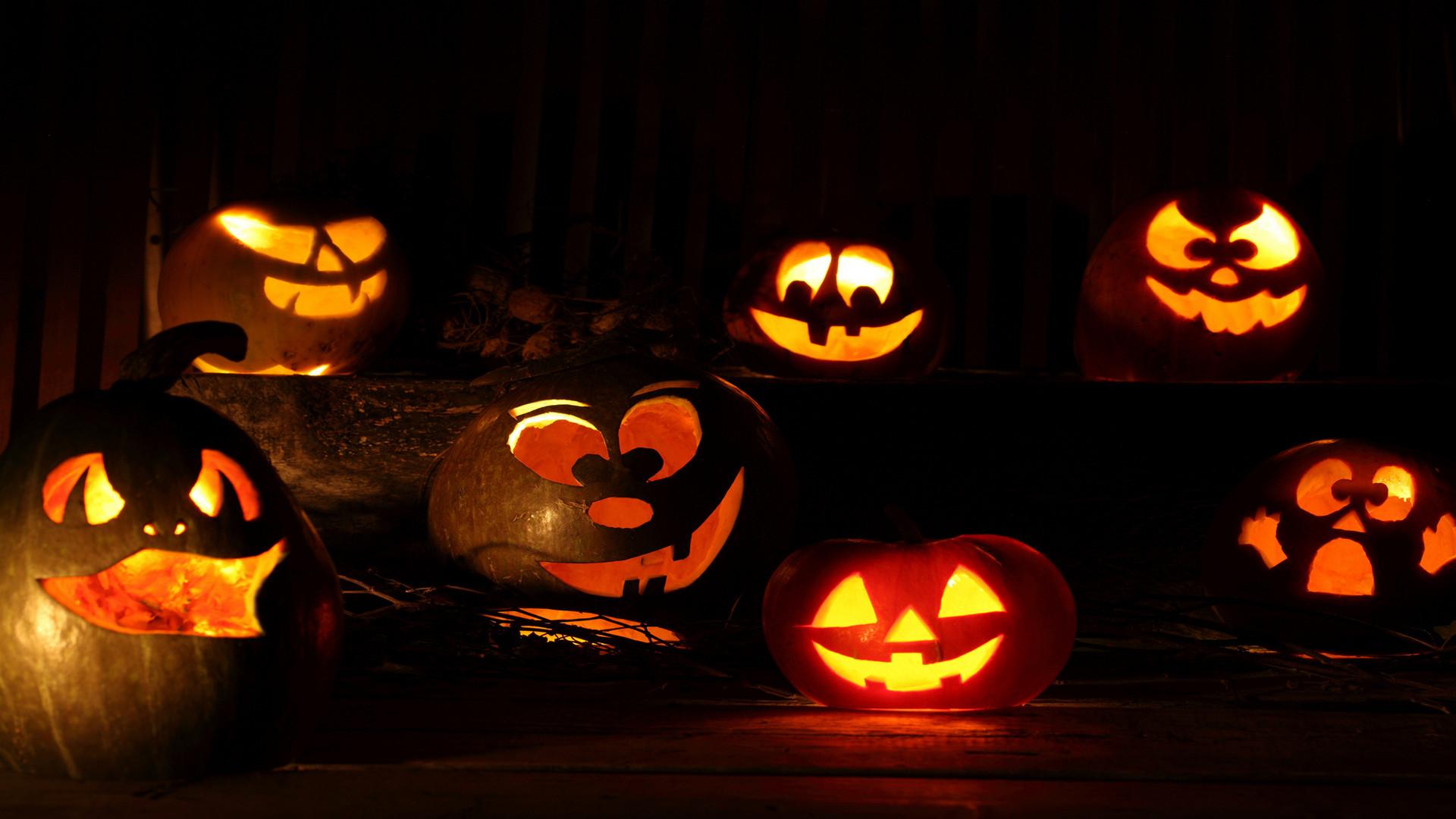 scary halloween pumpkin wallpapers Source · HD Halloween Wallpaper  WallpaperSafari