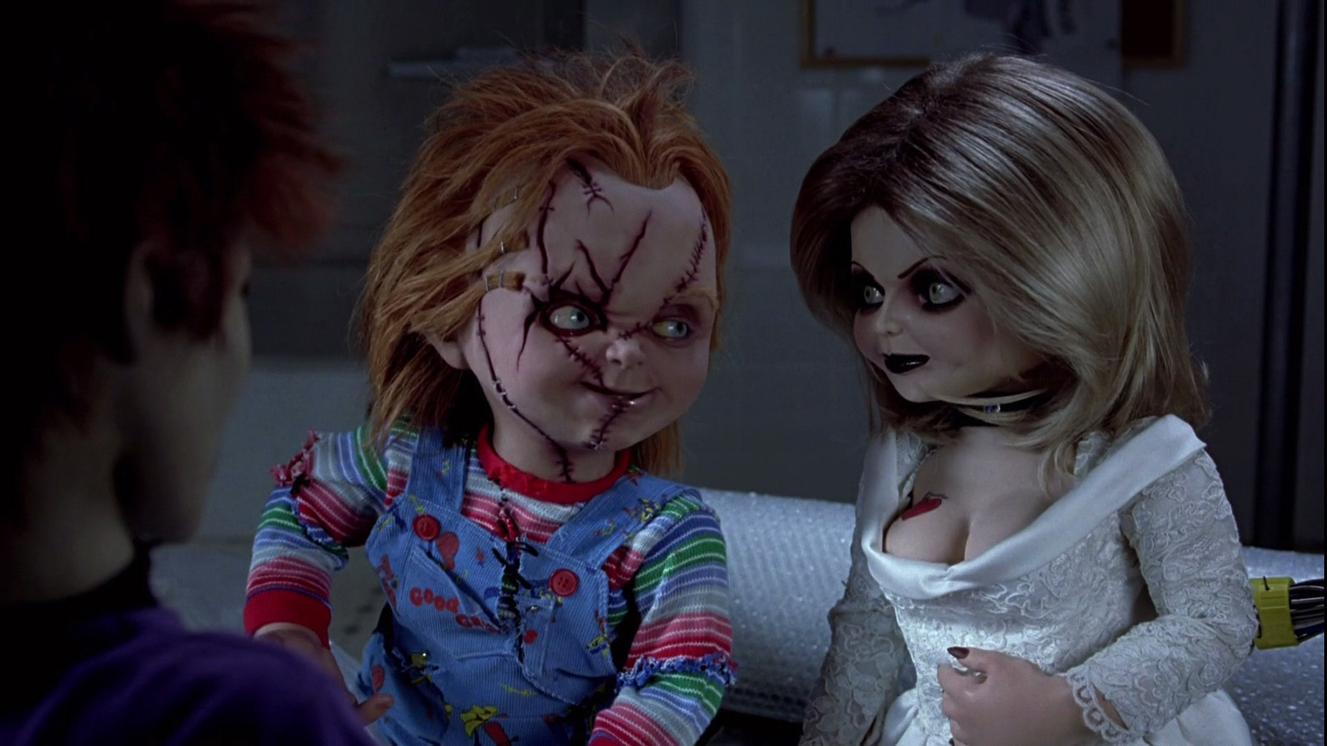 Pin Pin Chucky An Tiffany Childs Play Wallpaper 25673277 Fanpop On on .