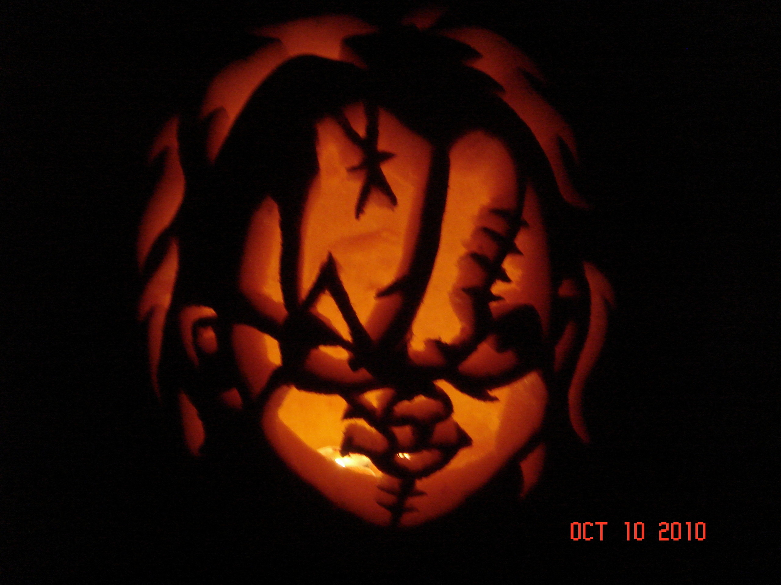 Horror Movie Killers images Chucky Pumpkin HD wallpaper and background  photos