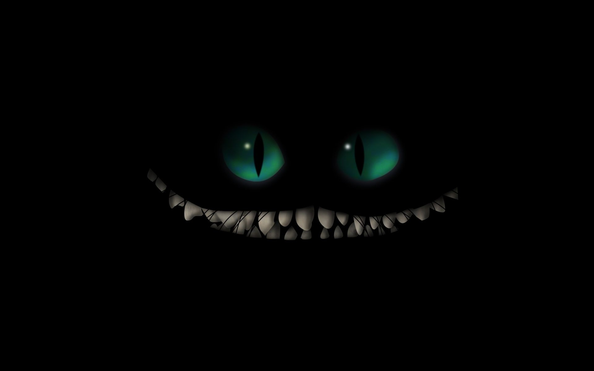 Dark monster creature fangs evil scary creepy spooky halloween .