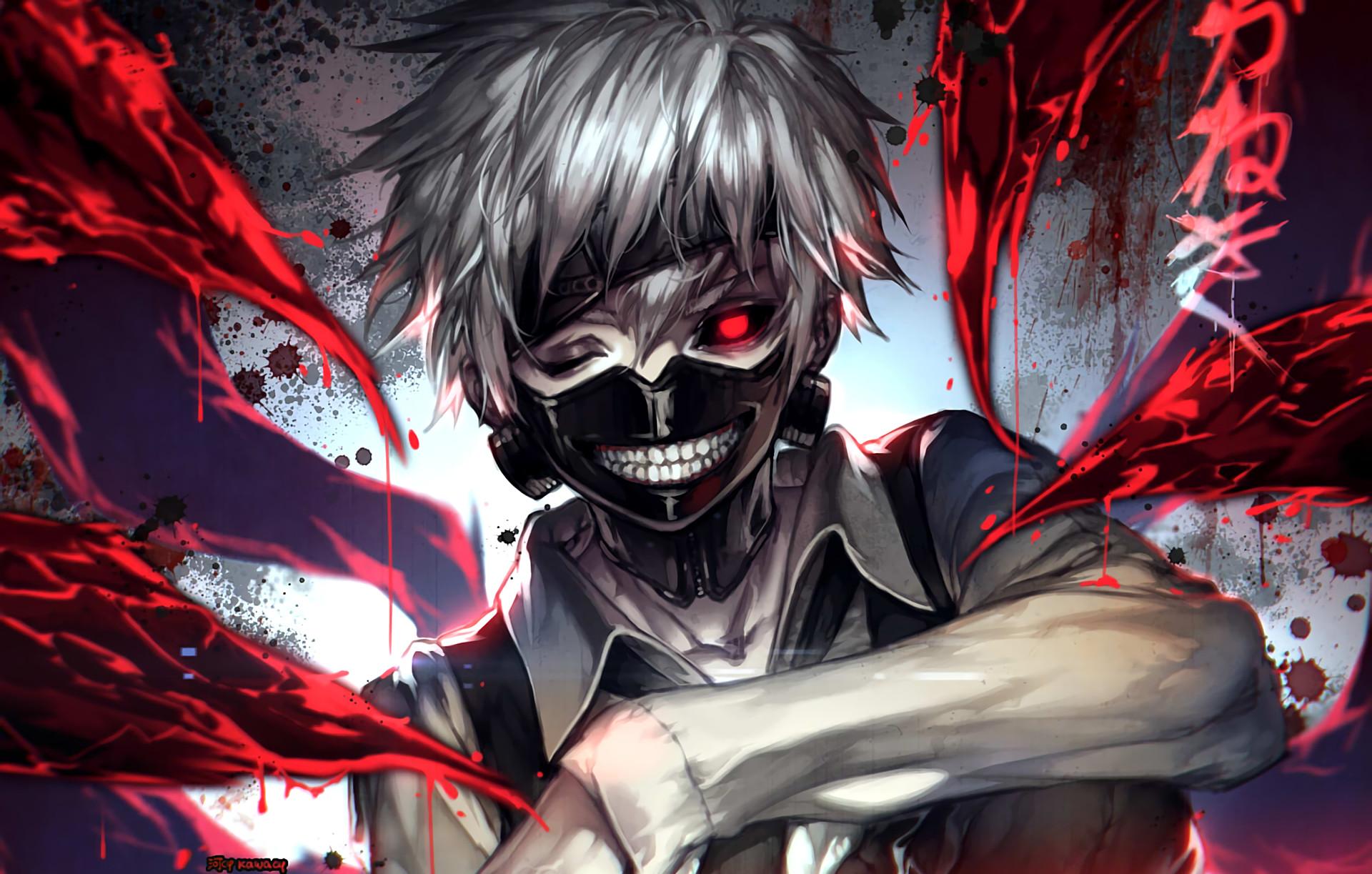Anime – Tokyo Ghoul Ken Kaneki Bakgrund