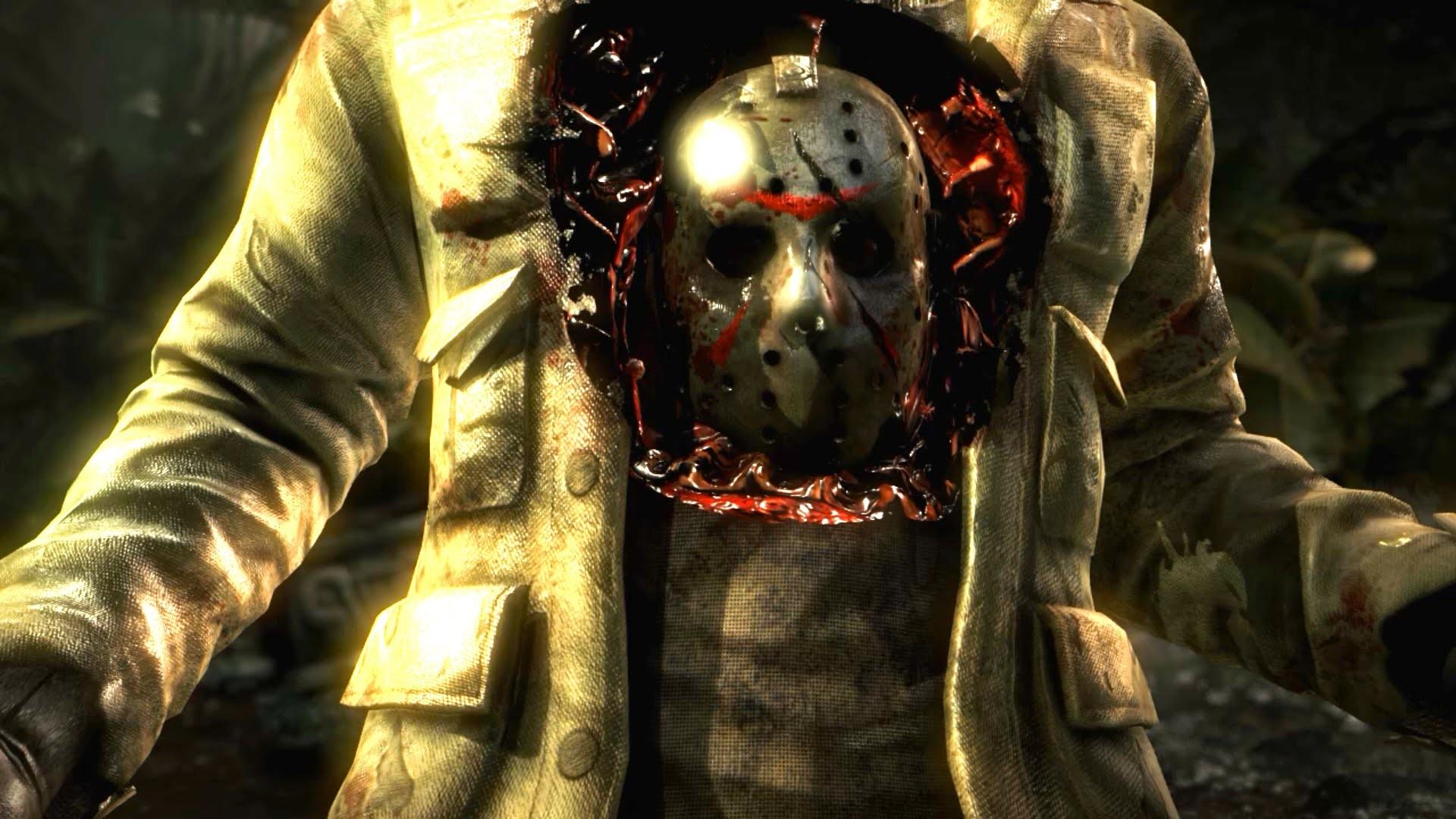 Goro Fatalities on Jason Voorhees: Mortal Kombat X