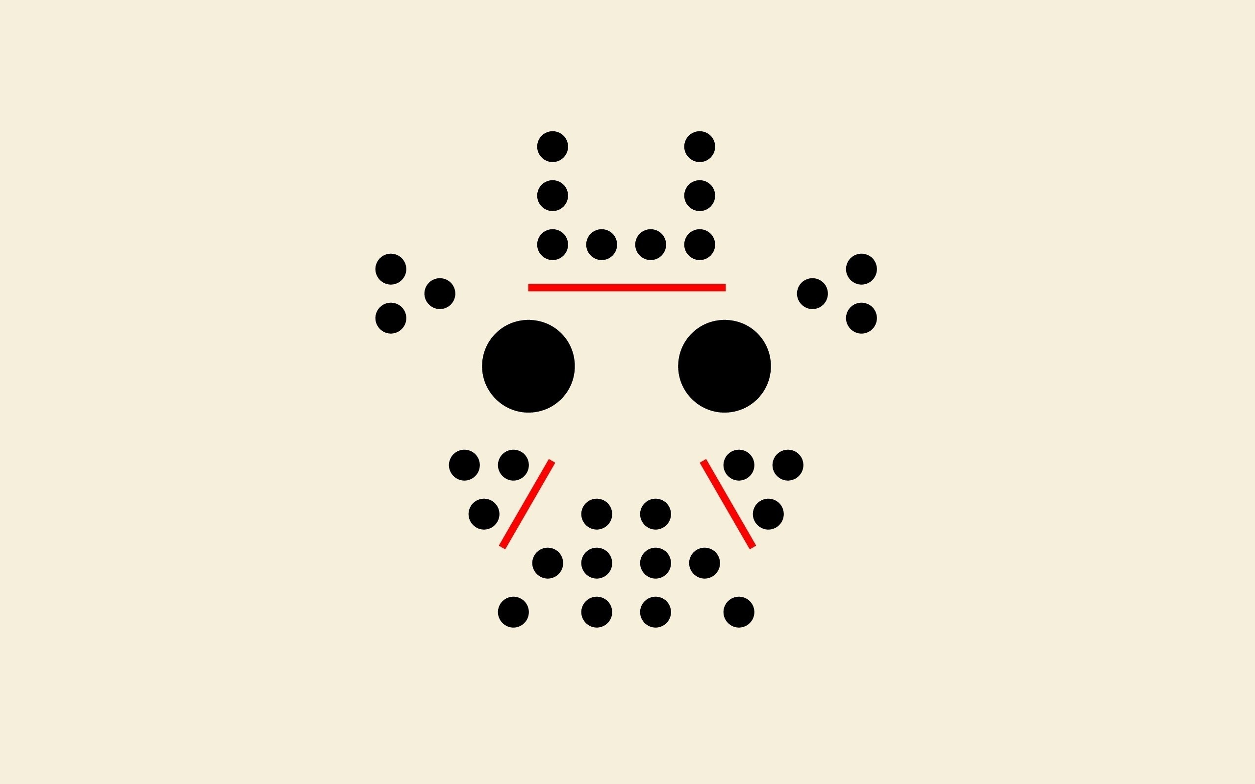 Wallpaper Points, Circles, Lines, Pattern, Minimalism, Mask, Jason, Style HD,  Picture, Image