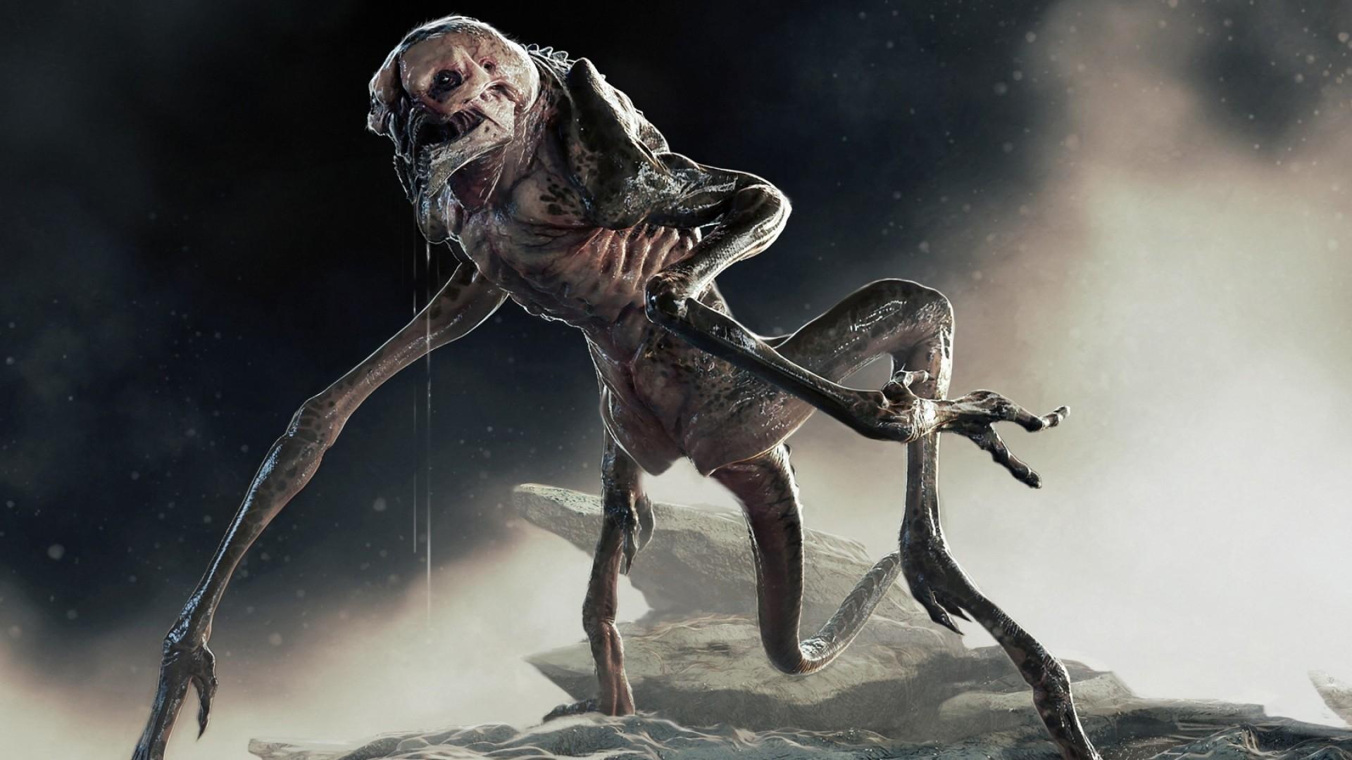 Preview wallpaper alien isolation, game, monster, horror 1920×1080