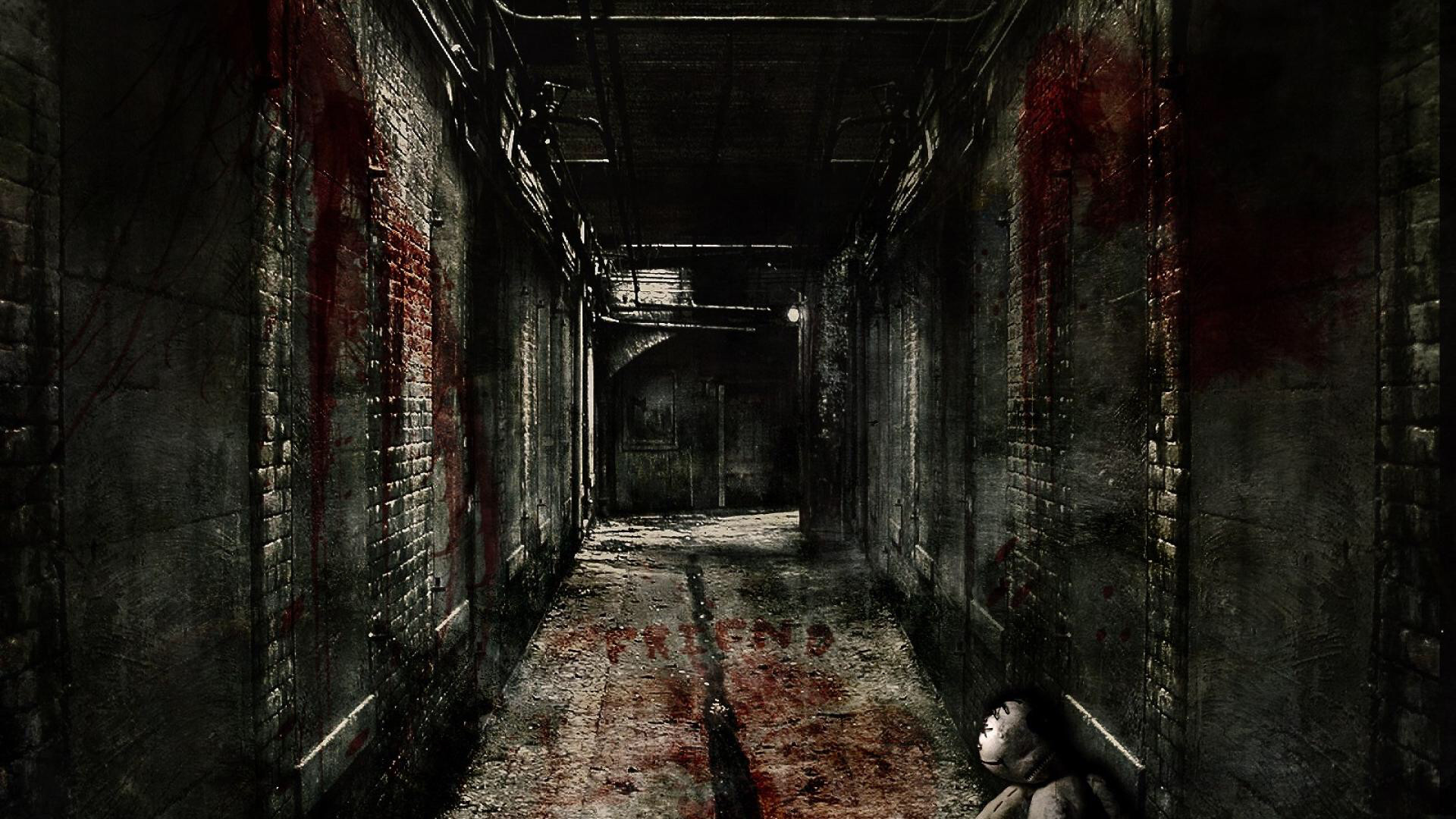 Dark – Hallway Wallpapers and Backgrounds